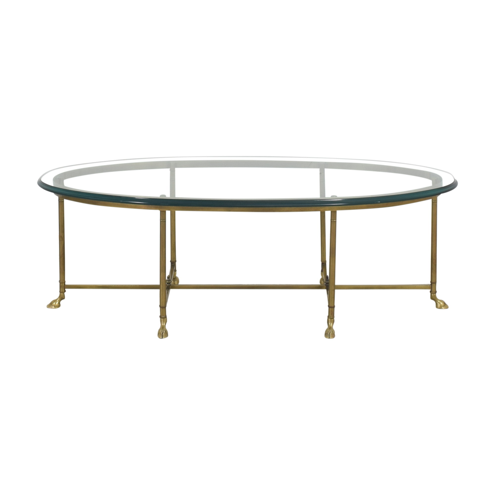 Stickley Furniture Stickley Furniture Oval Cocktail Table on sale
