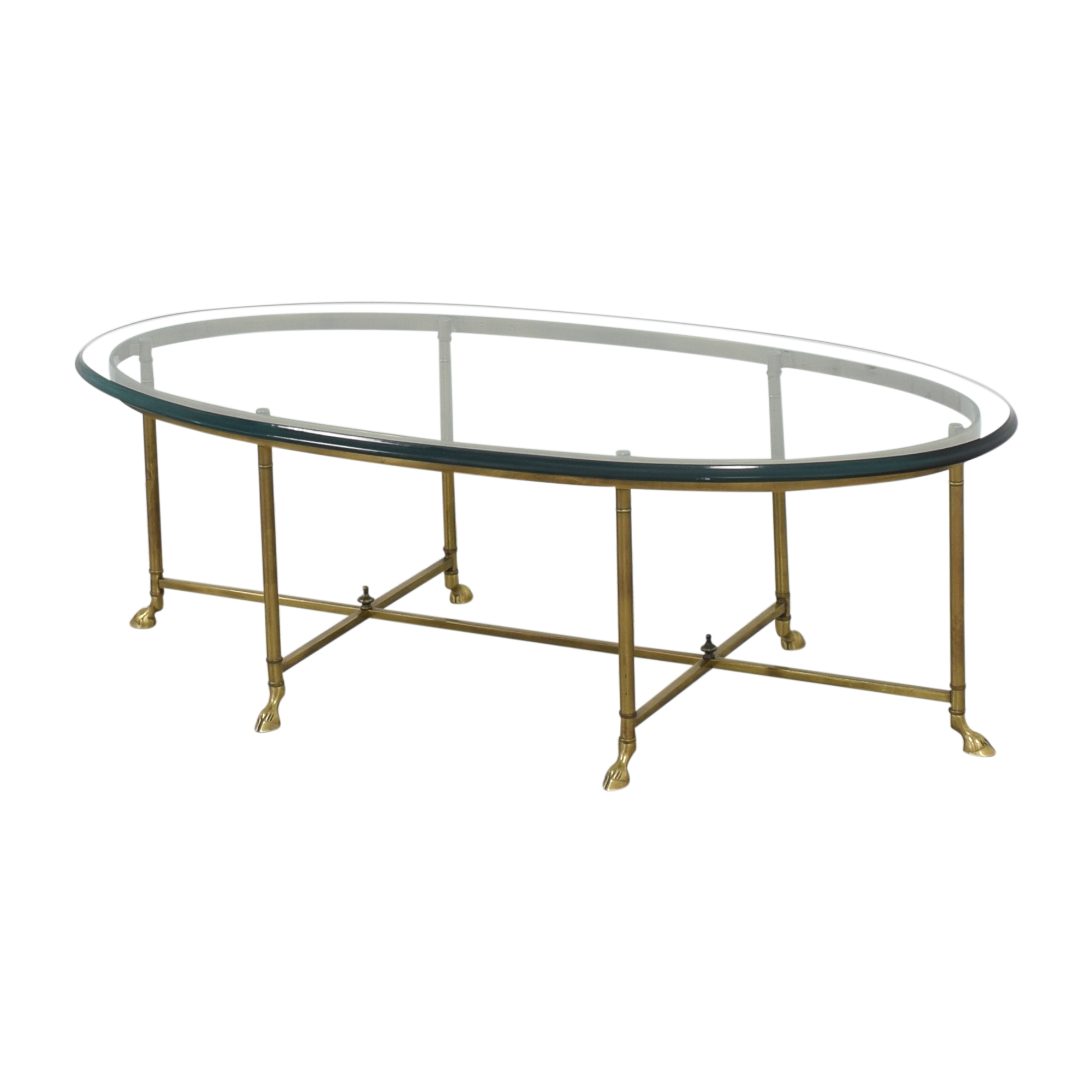 Stickley Furniture Stickley Furniture Oval Cocktail Table Coffee Tables