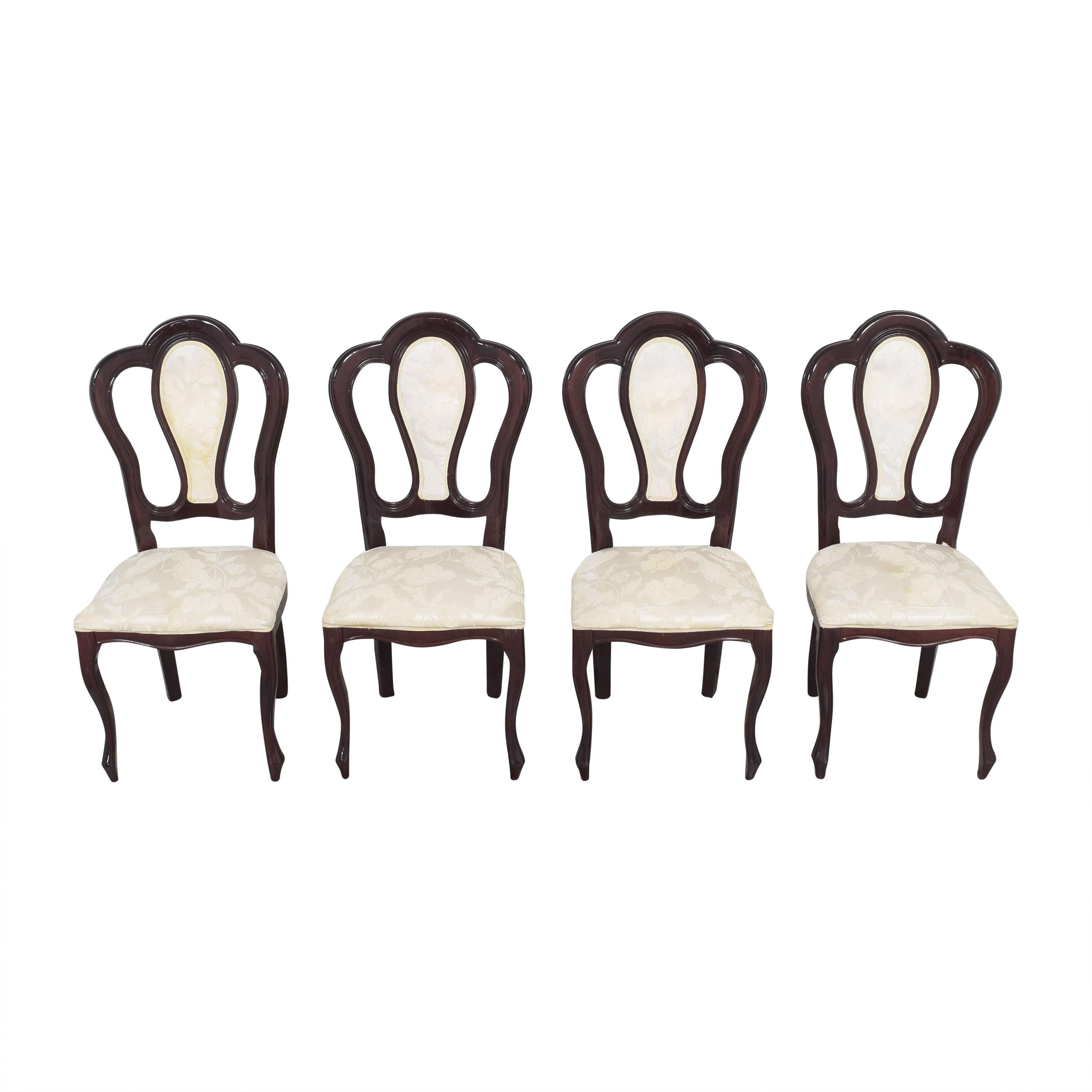 Floral Upholstered Dining Chairs discount