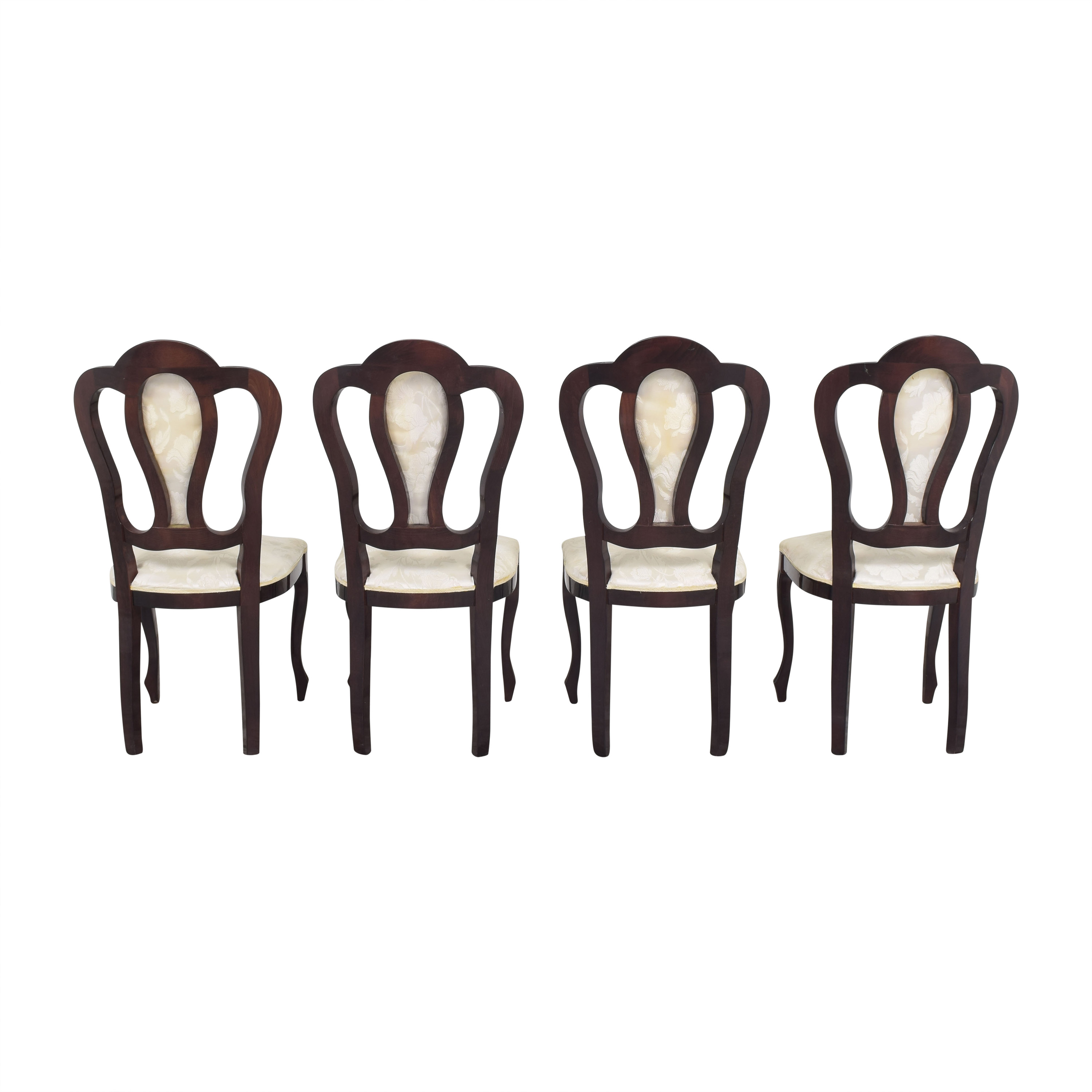 Floral Upholstered Dining Chairs used