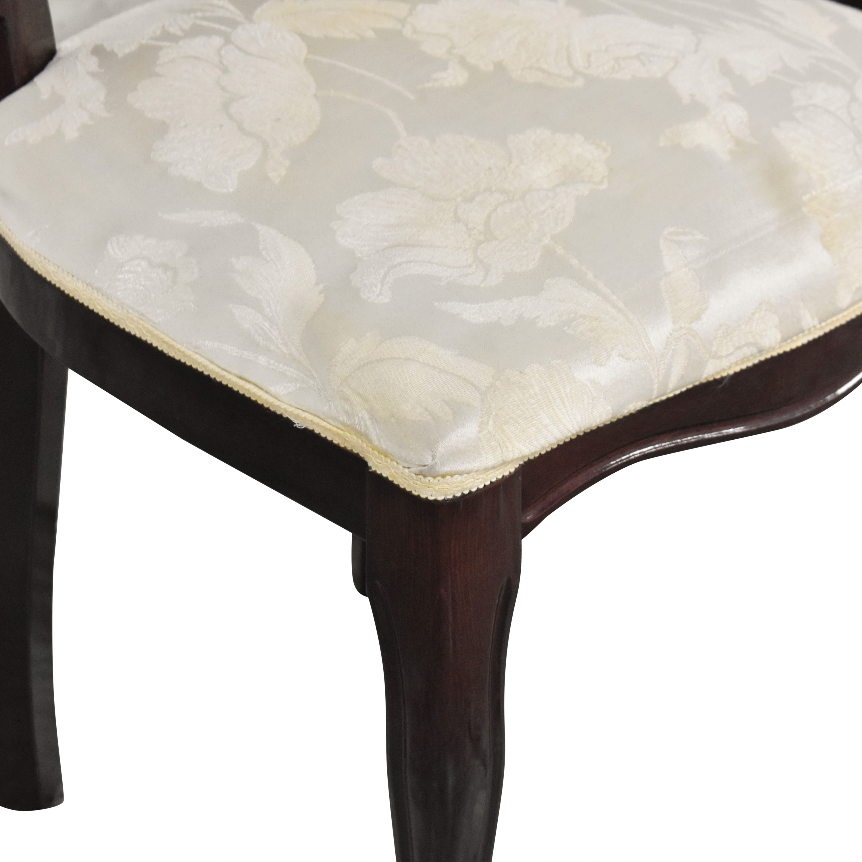 Floral Upholstered Dining Chairs sale