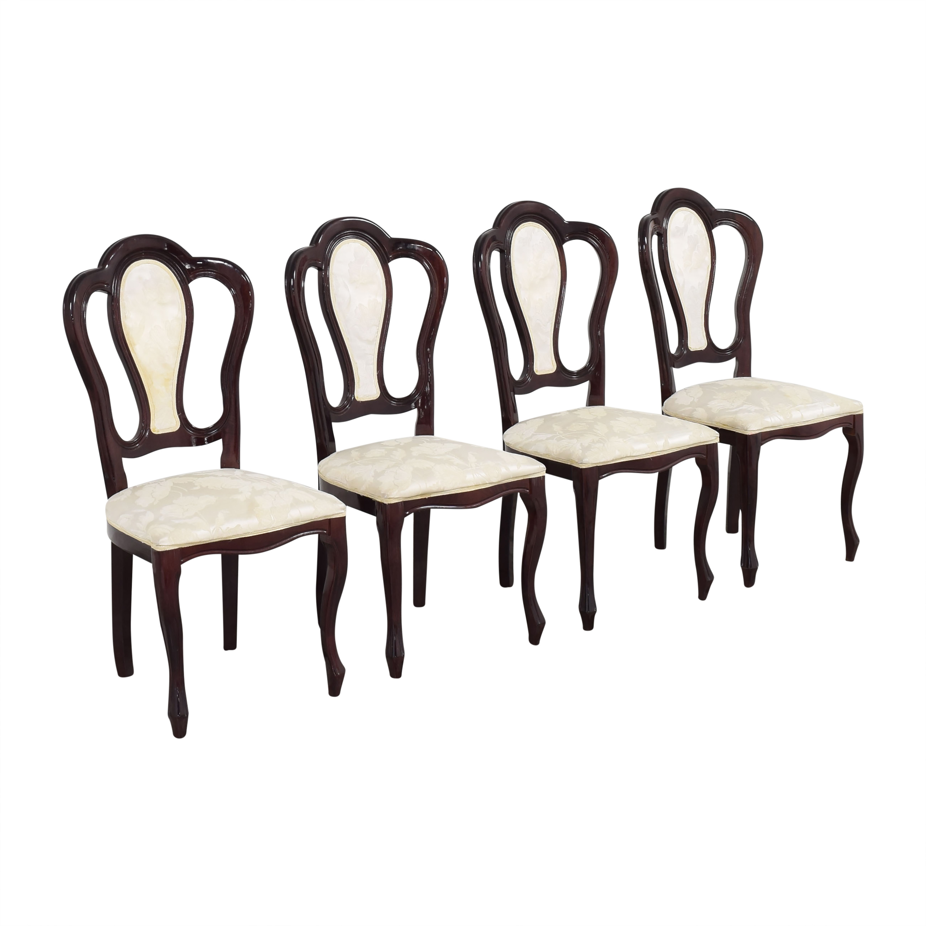 Floral Upholstered Dining Chairs ma