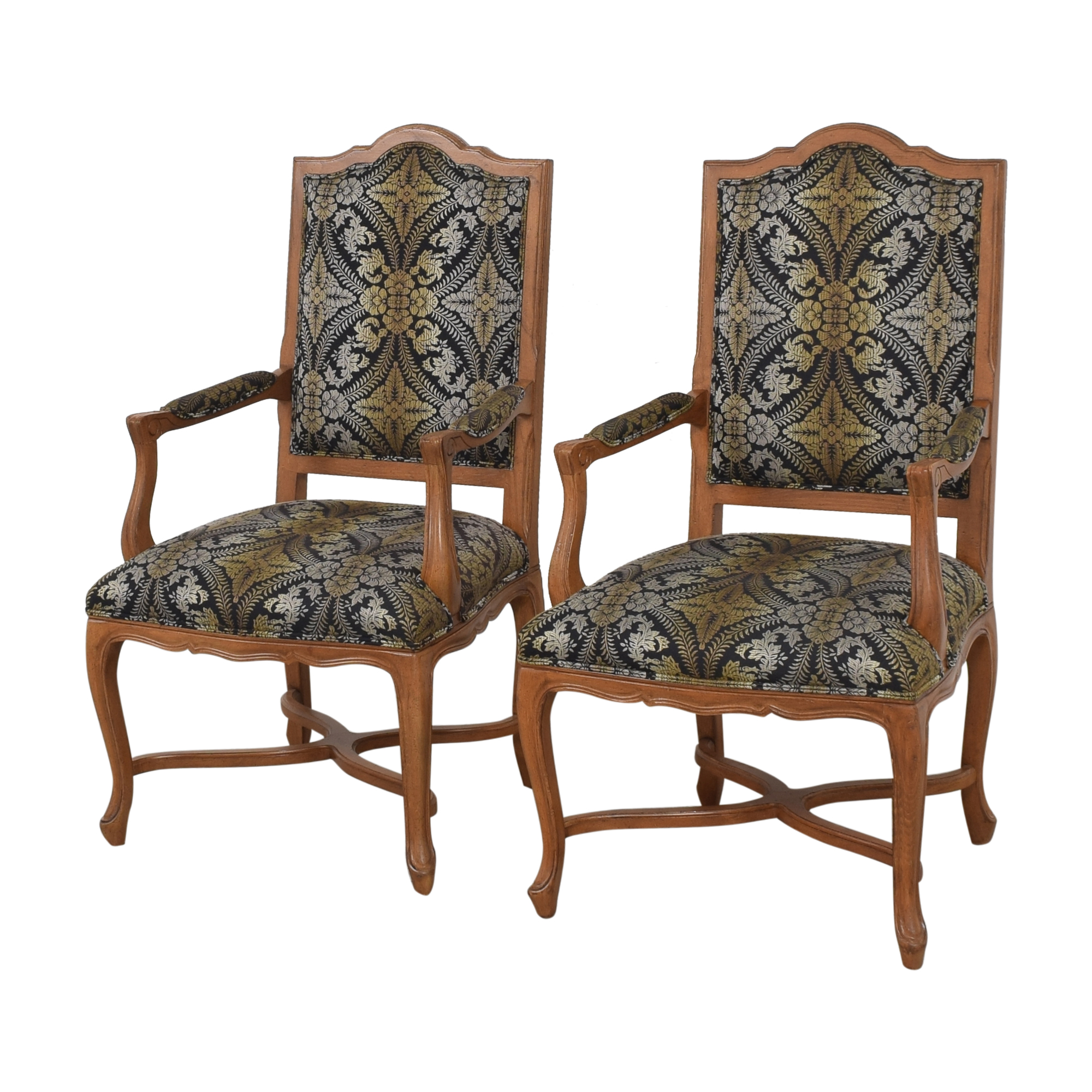 Ethan Allen Ethan Allen Dining Arm Chairs multi-colored
