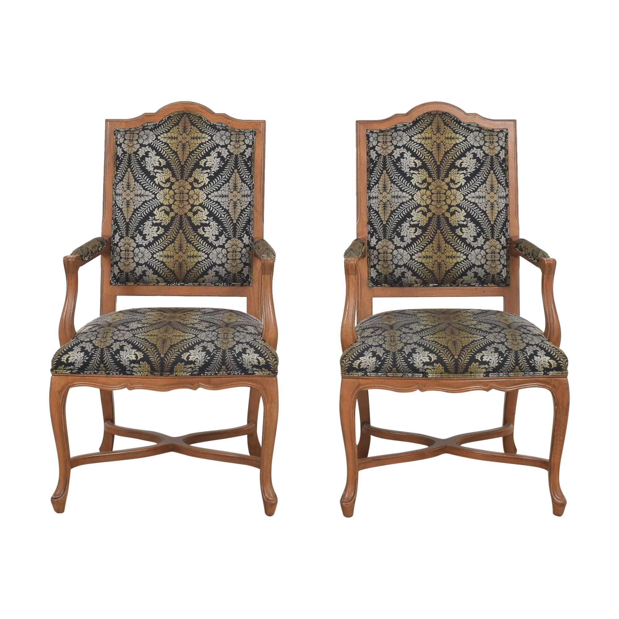 Ethan Allen Ethan Allen Dining Arm Chairs pa