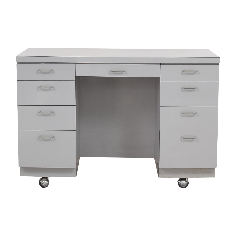 shop Custom Nine Drawer Desk  Home Office Desks