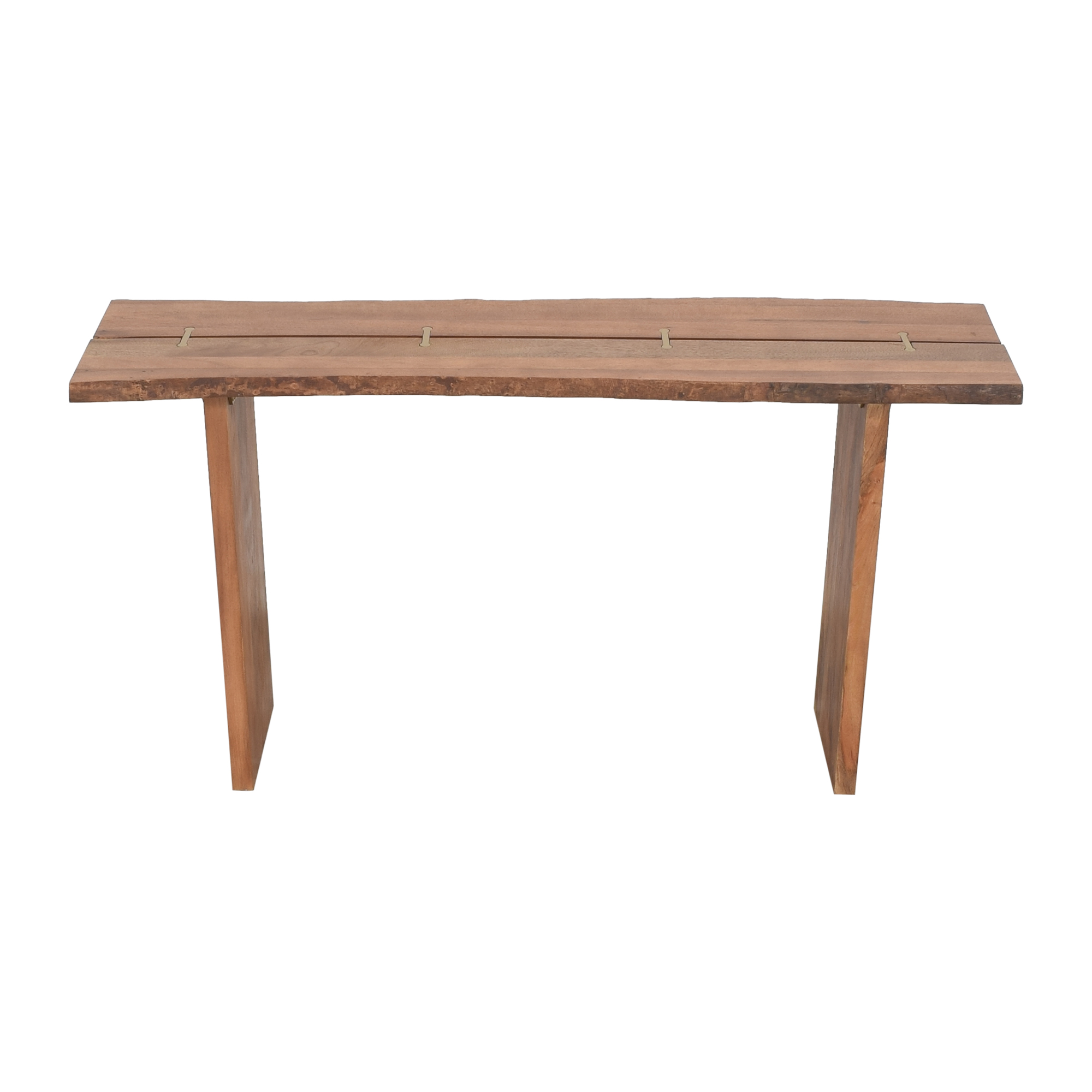 buy World Market Live Edge Sansur Console Table World Market