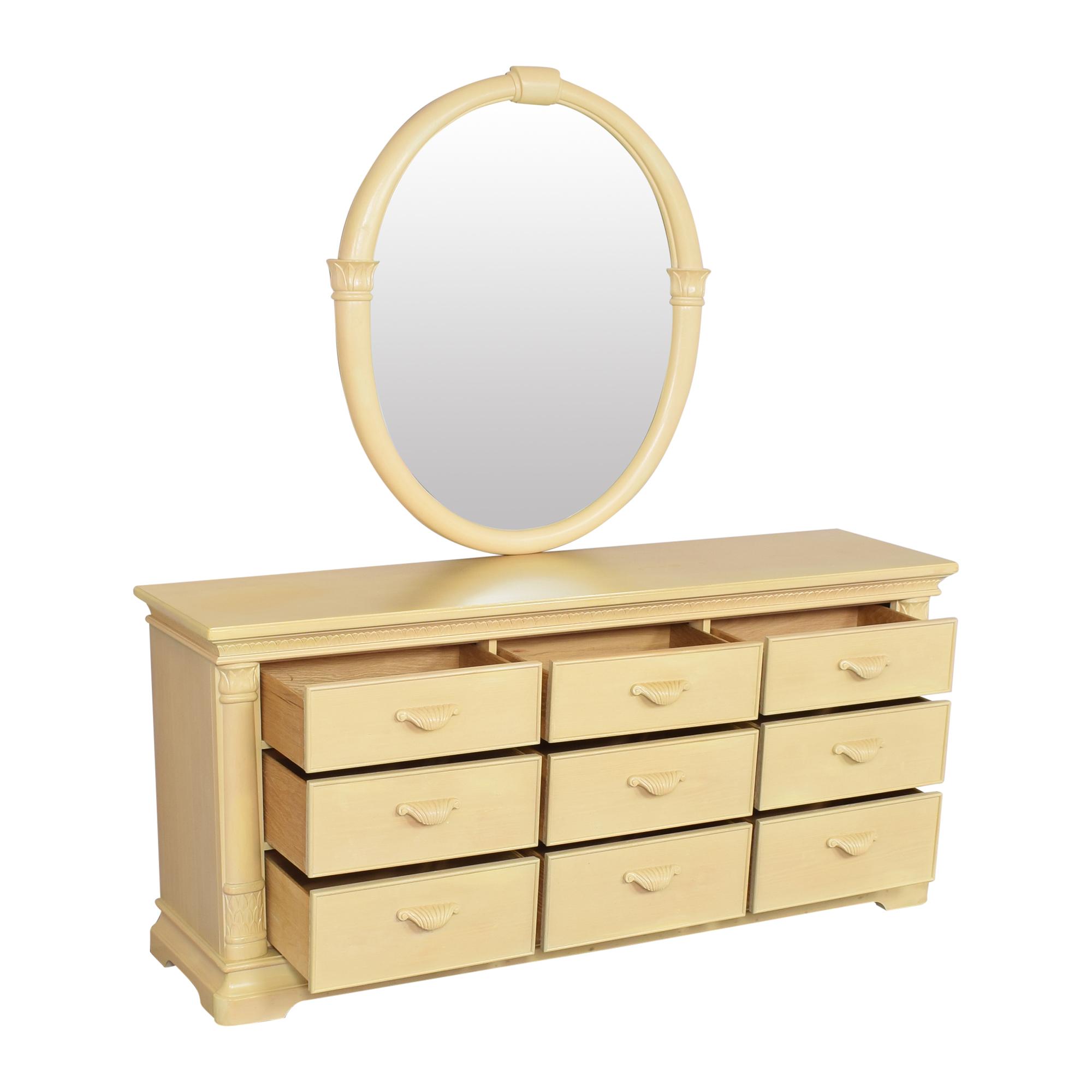 Bernhardt Bernhardt Nine Drawer Dresser with Mirror on sale