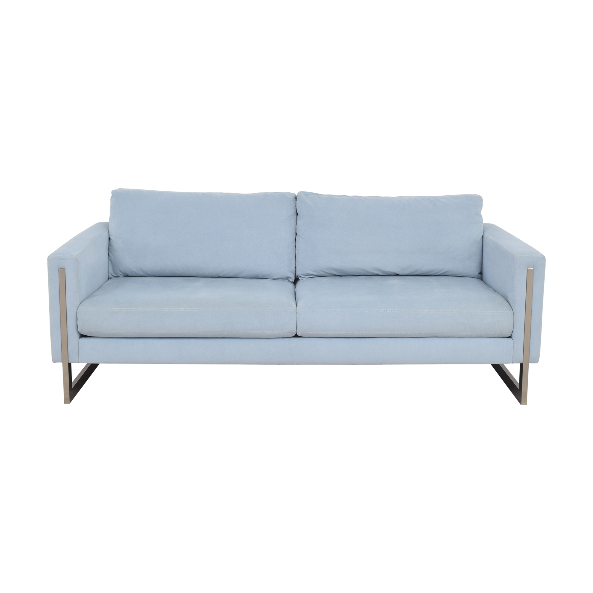 American Leather Savino Two Cushion Sofa sale