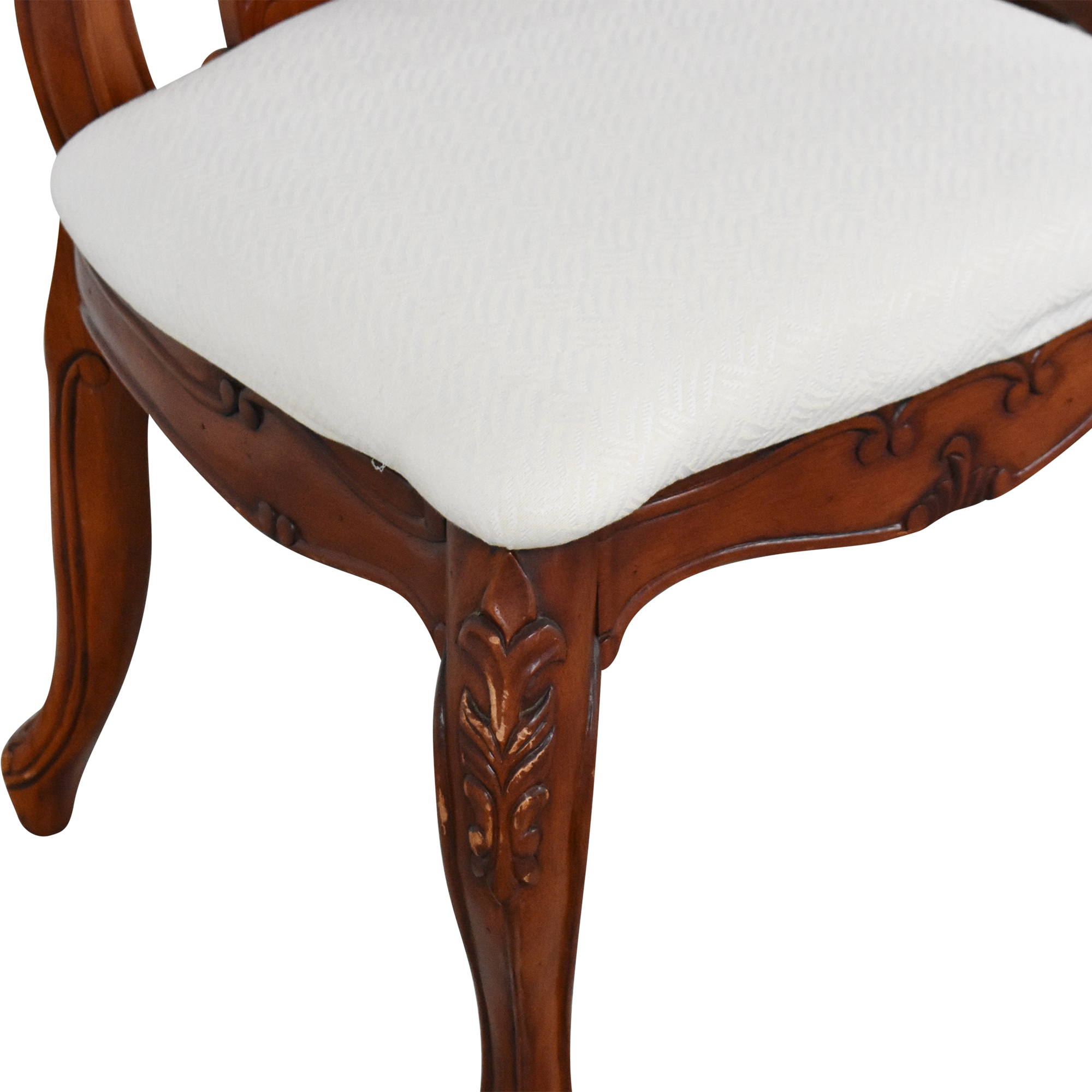 Upholstered Dining Side Chairs second hand