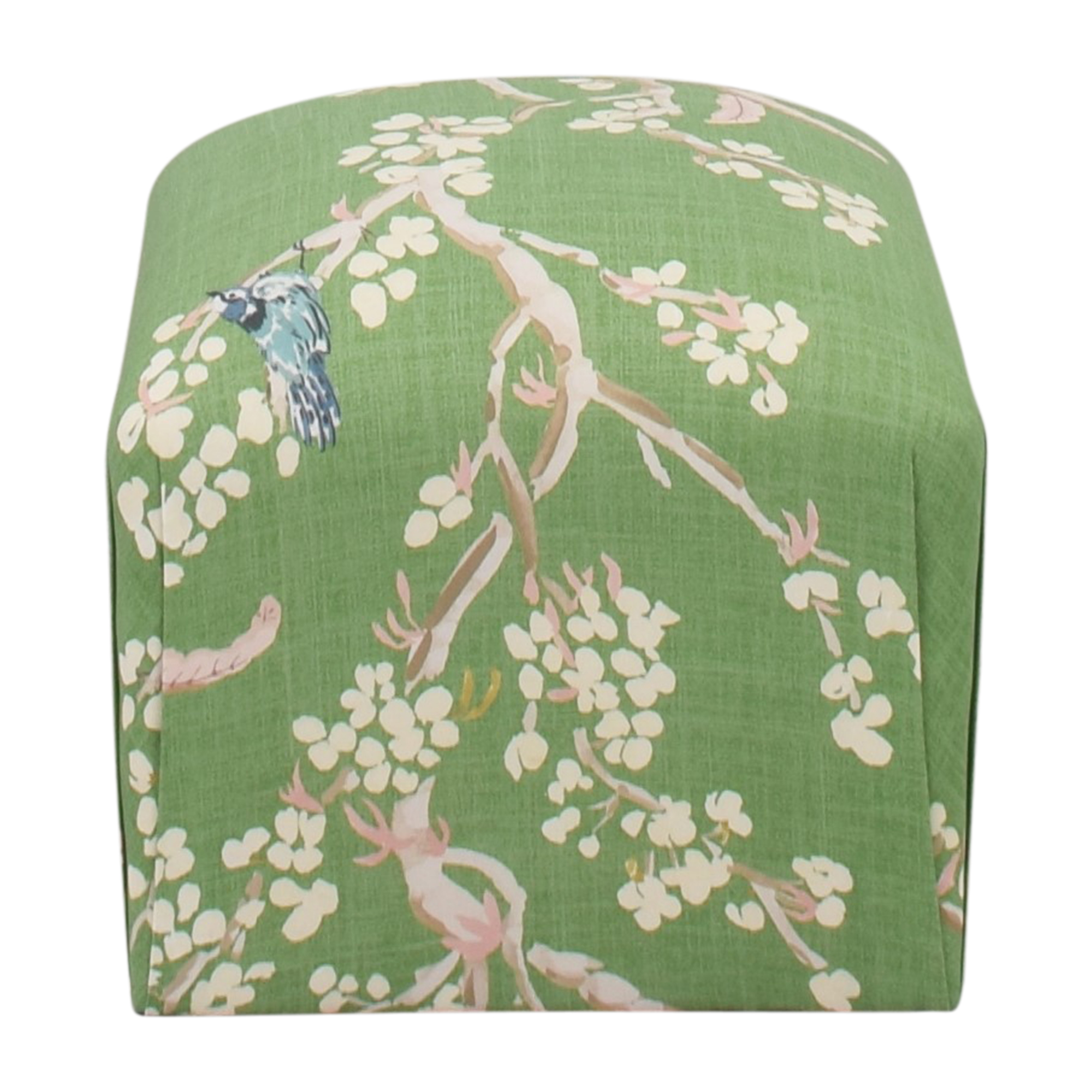The Inside Floral Deco Ottoman The Inside