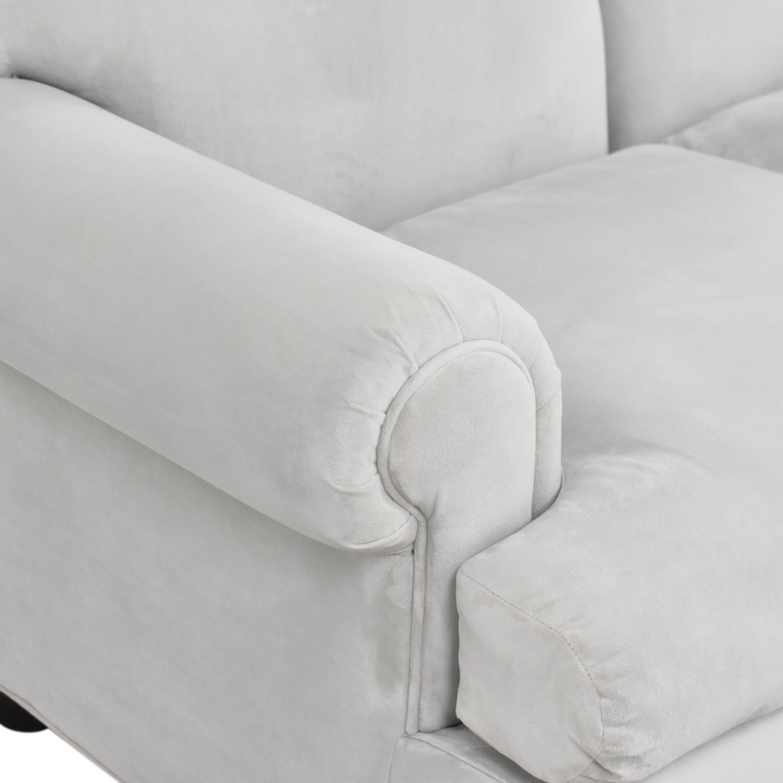 shop Three Cushion Roll Arm Sofa  Sofas