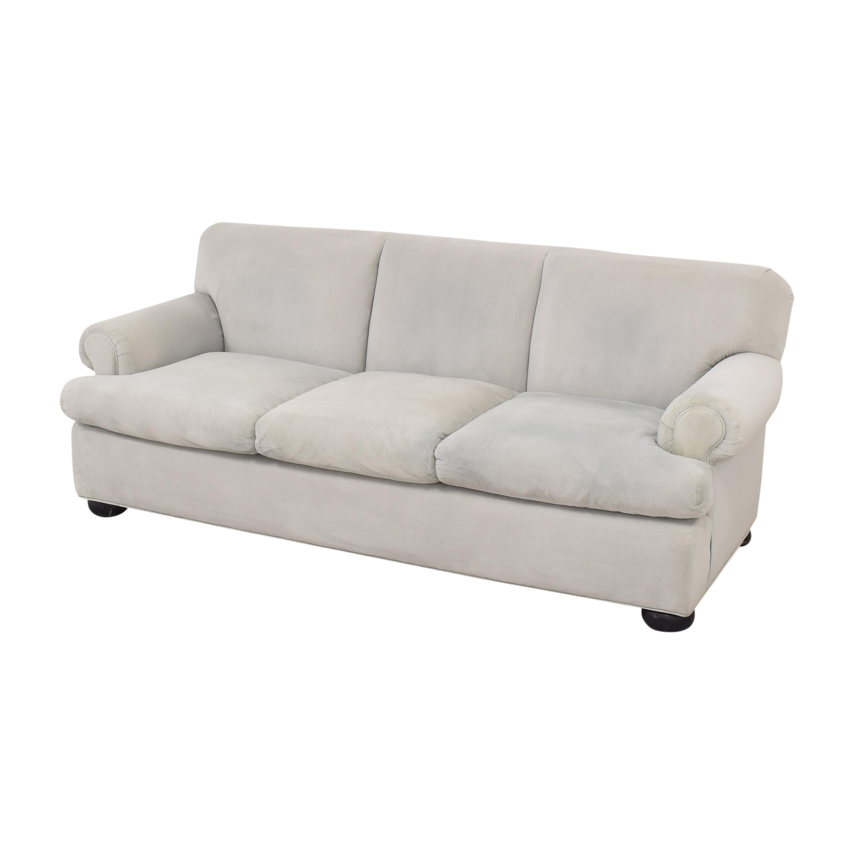 Three Cushion Roll Arm Sofa ma