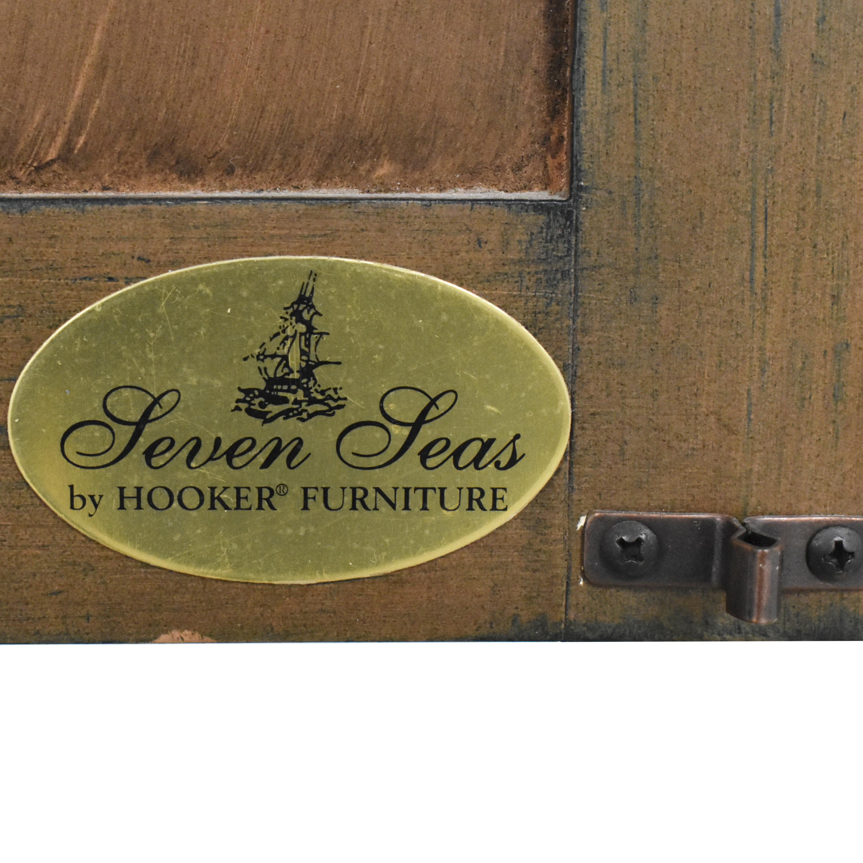 Hooker Furniture Seven Seas Floral Armoire Hooker Furniture