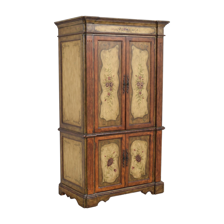 buy Hooker Furniture Seven Seas Floral Armoire Hooker Furniture Wardrobes & Armoires