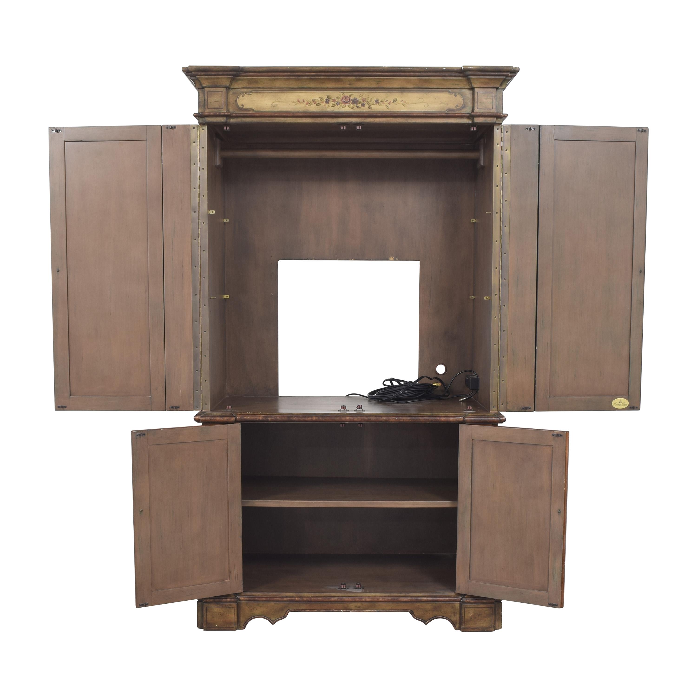 Hooker Furniture Hooker Furniture Seven Seas Floral Armoire on sale
