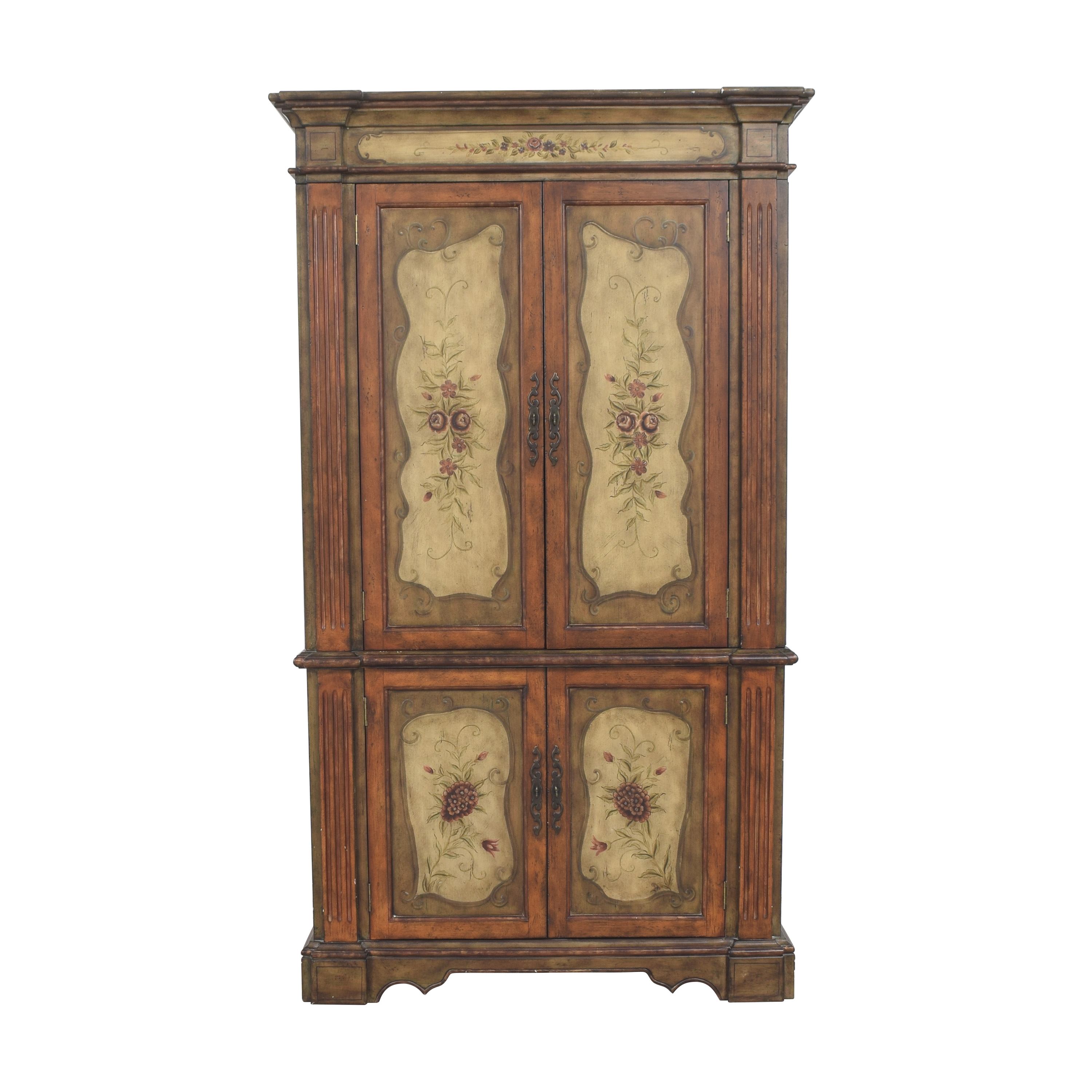 Hooker Furniture Hooker Furniture Seven Seas Floral Armoire nj