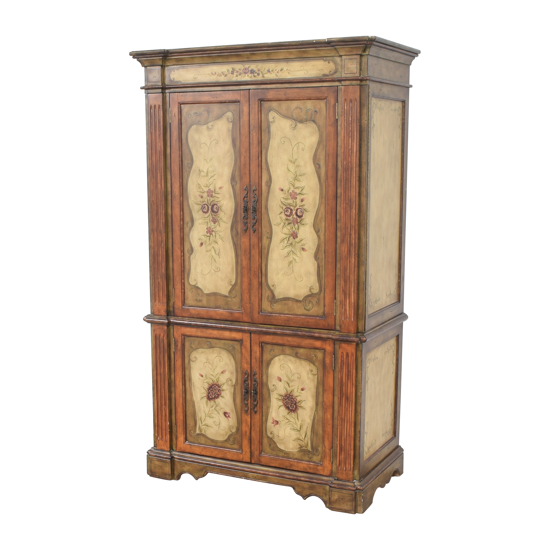 Hooker Furniture Hooker Furniture Seven Seas Floral Armoire Wardrobes & Armoires