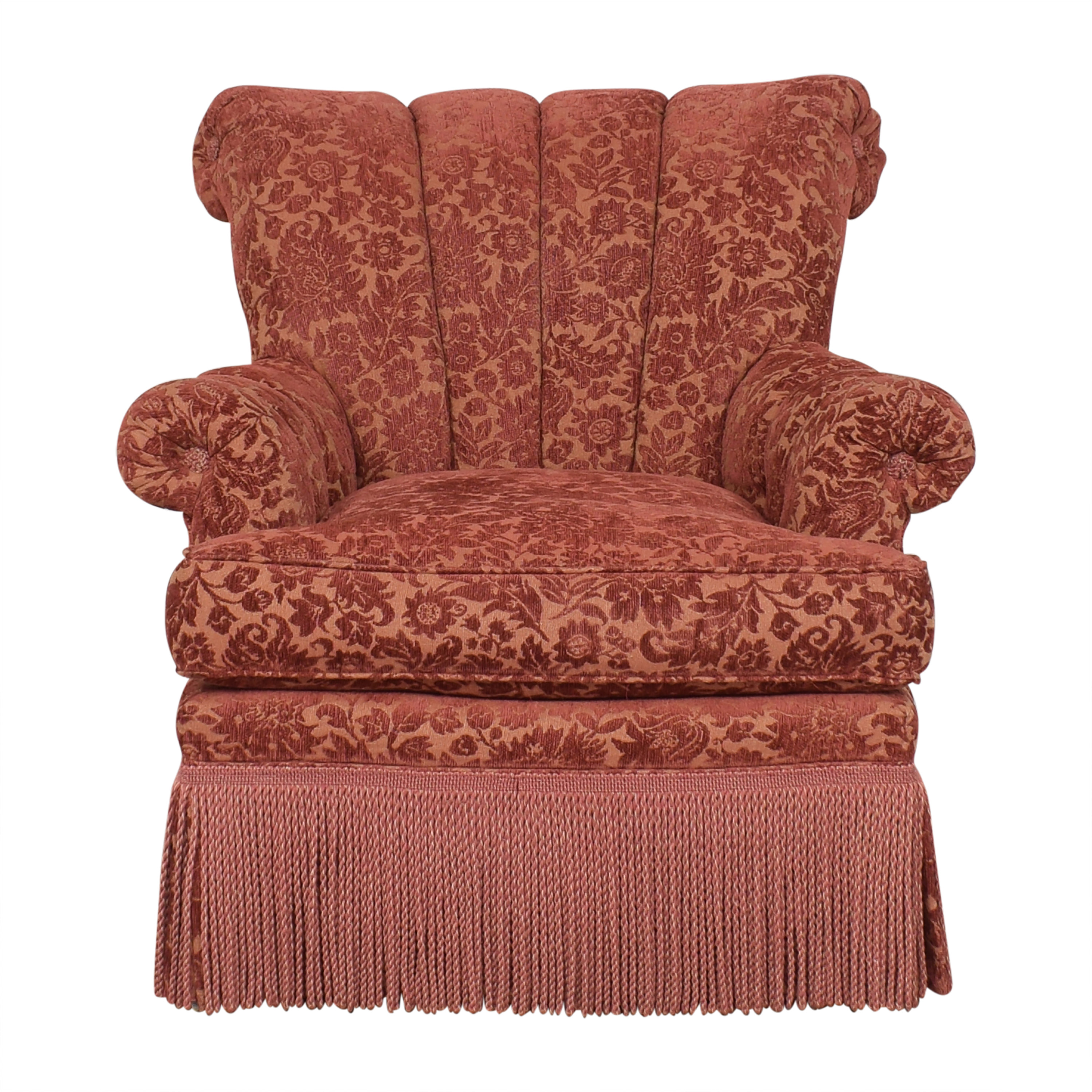 shop Domain Fringed Roll Arm Chair Domain