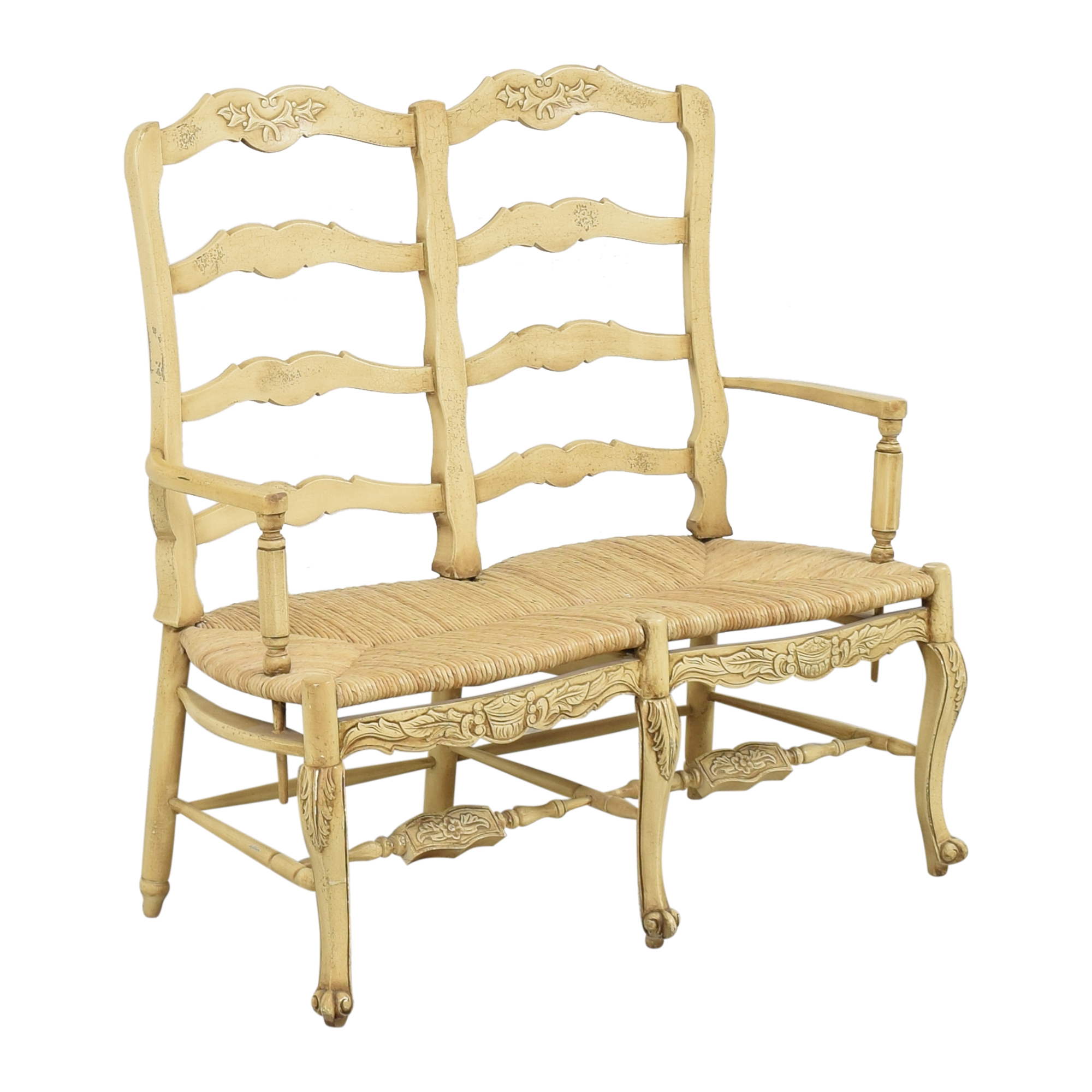 Country French Double Settee pa