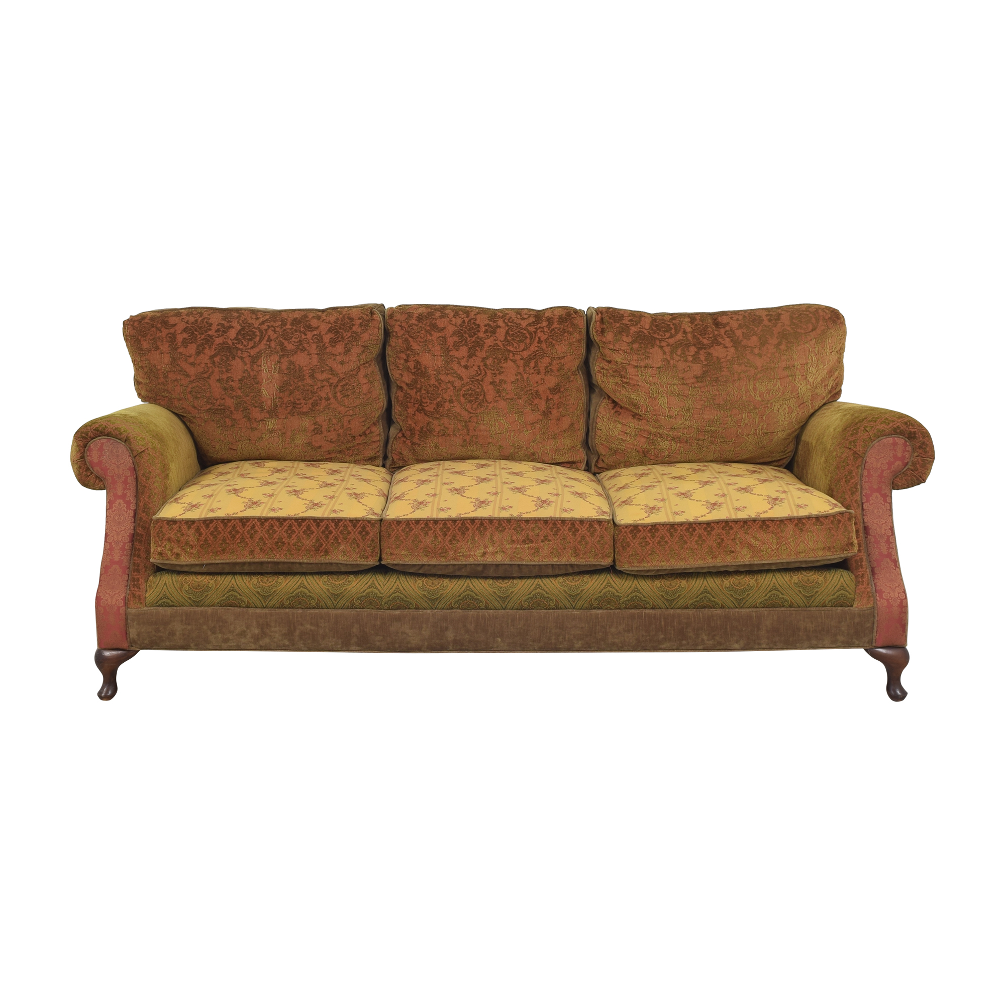 Laura Ashley Laura Ashley Patterned Roll Arm Sofa on sale