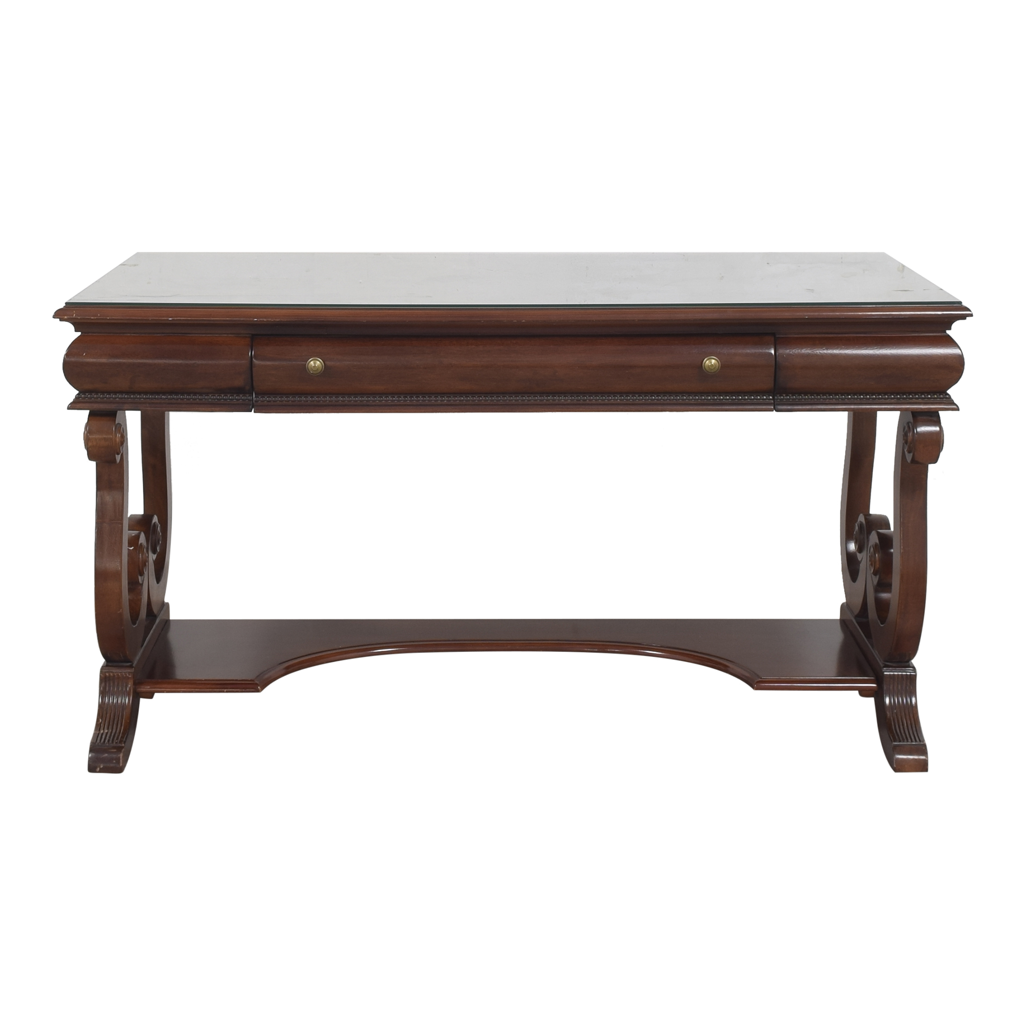 Universal Furniture Universal Furniture Trestle Desk brown
