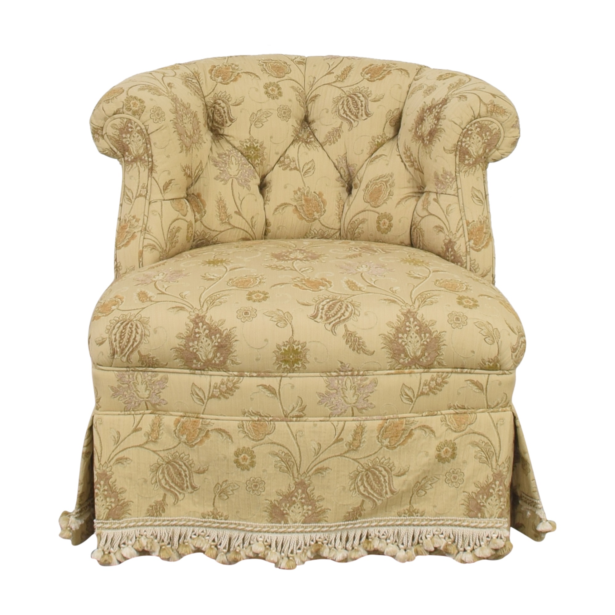 shop Kravet Skirted Accent Chair Kravet Accent Chairs