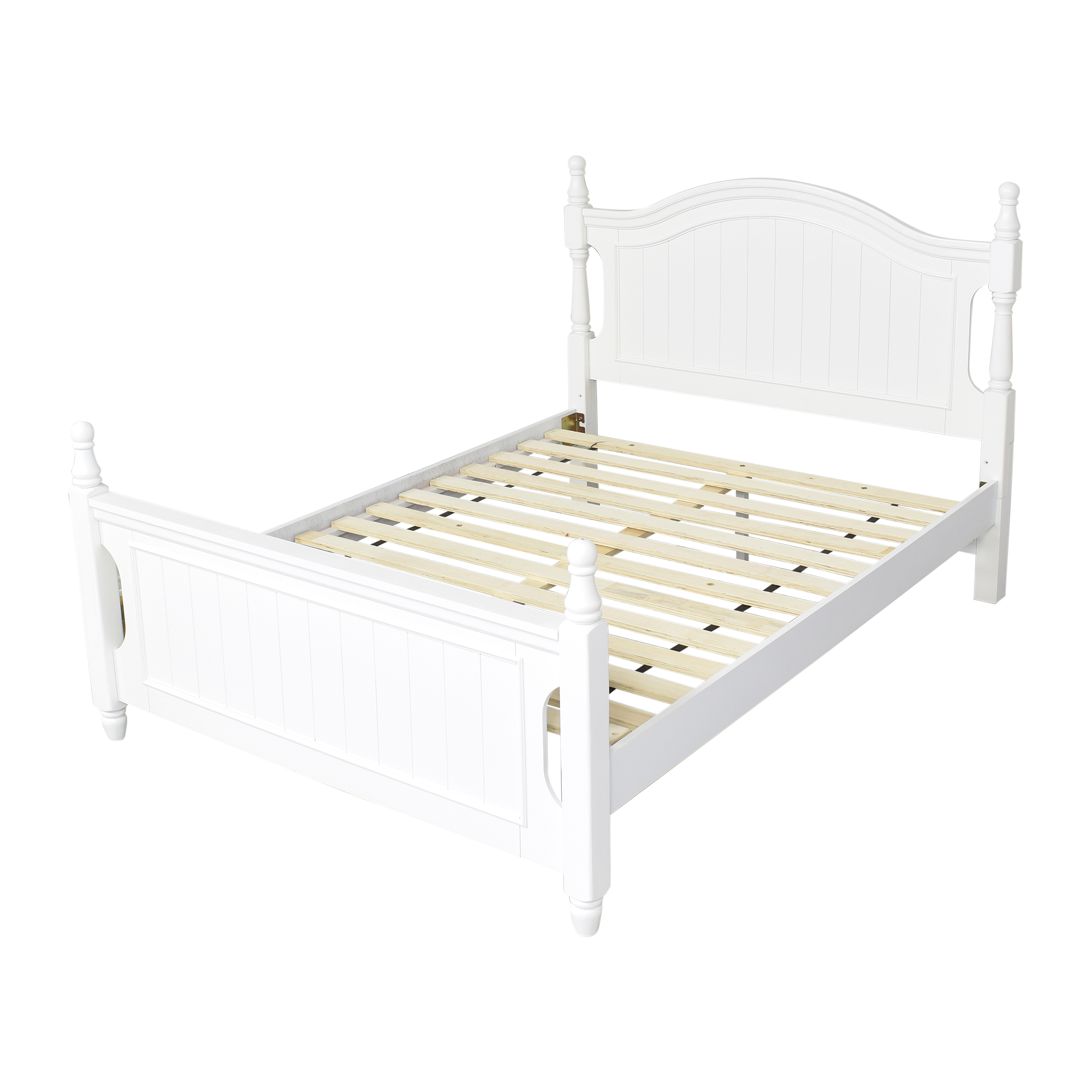 shop Raymour & Flanigan Raymour and Flanigan Willow Point Post Full Bed online