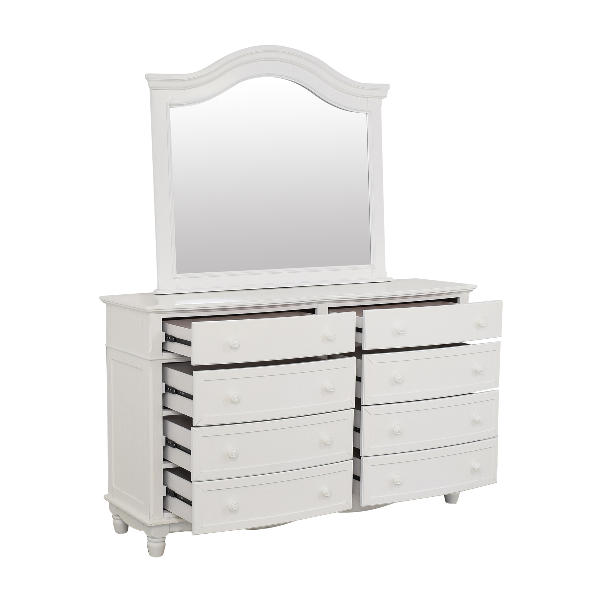 buy Raymour and Flanigan Willow Point Dresser with Mirror Raymour & Flanigan Dressers