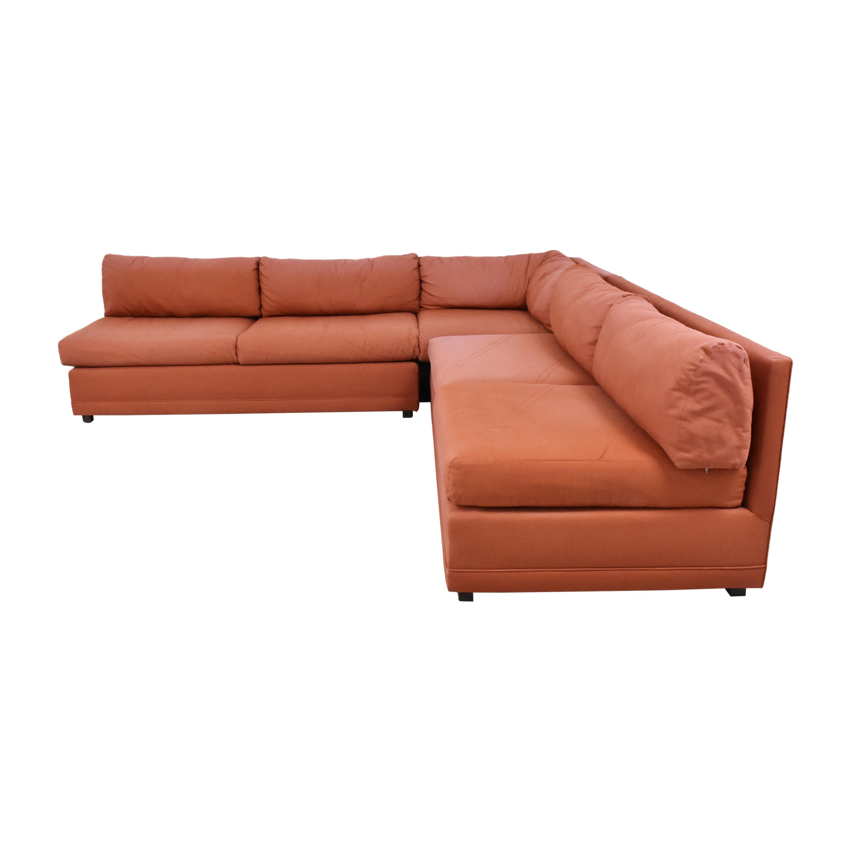 Beckenstein Beckenstein Corner Sectional Sofa Sofas