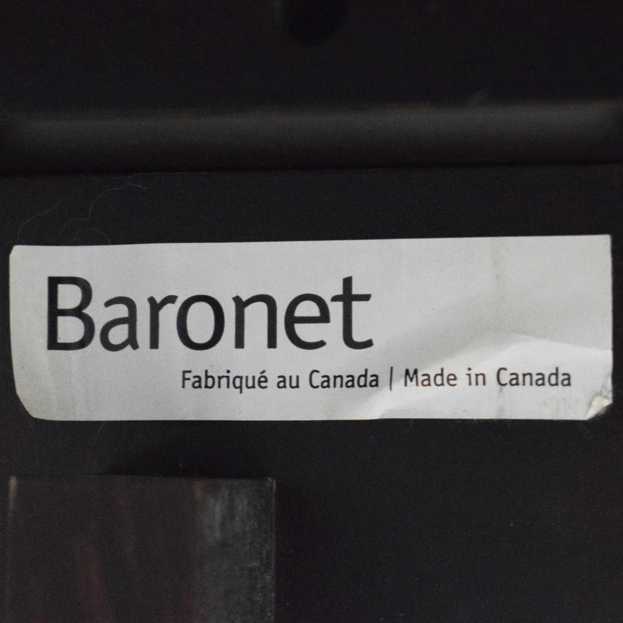 Baronet Baronet Queen Platform Bed for sale