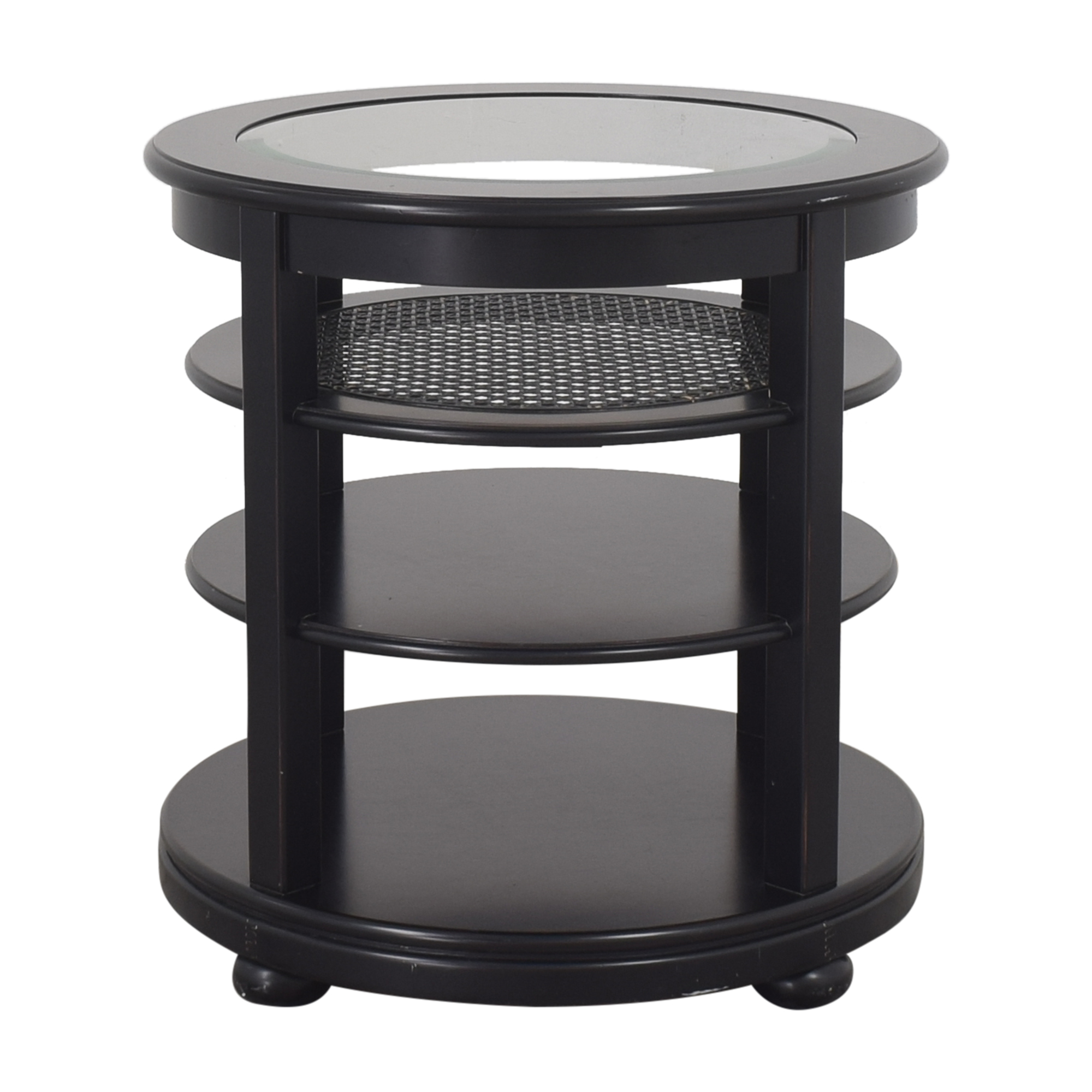 Stanley Round Tiered End Table Stanley Furniture