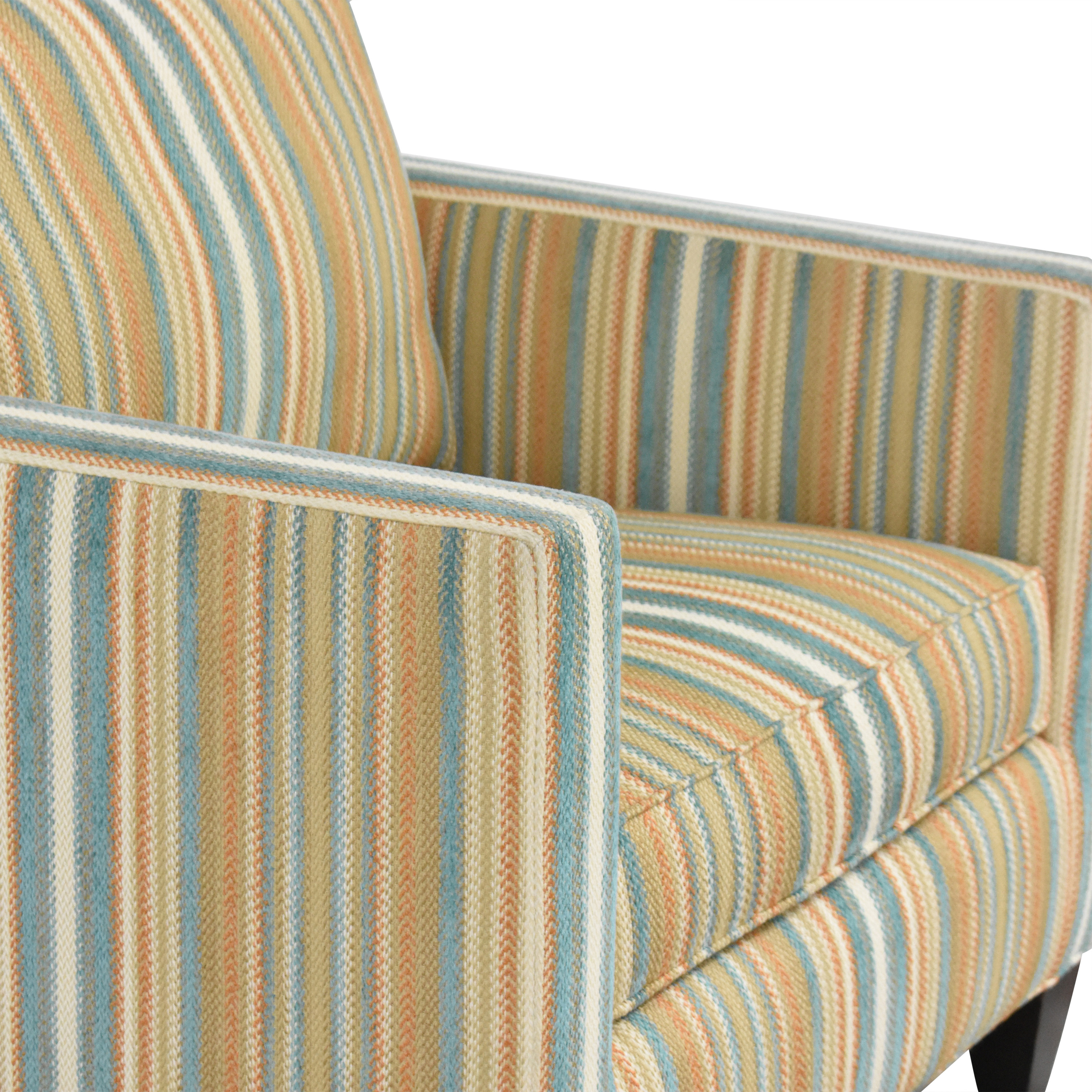 Thomasville Thomasville Striped Accent Chair coupon