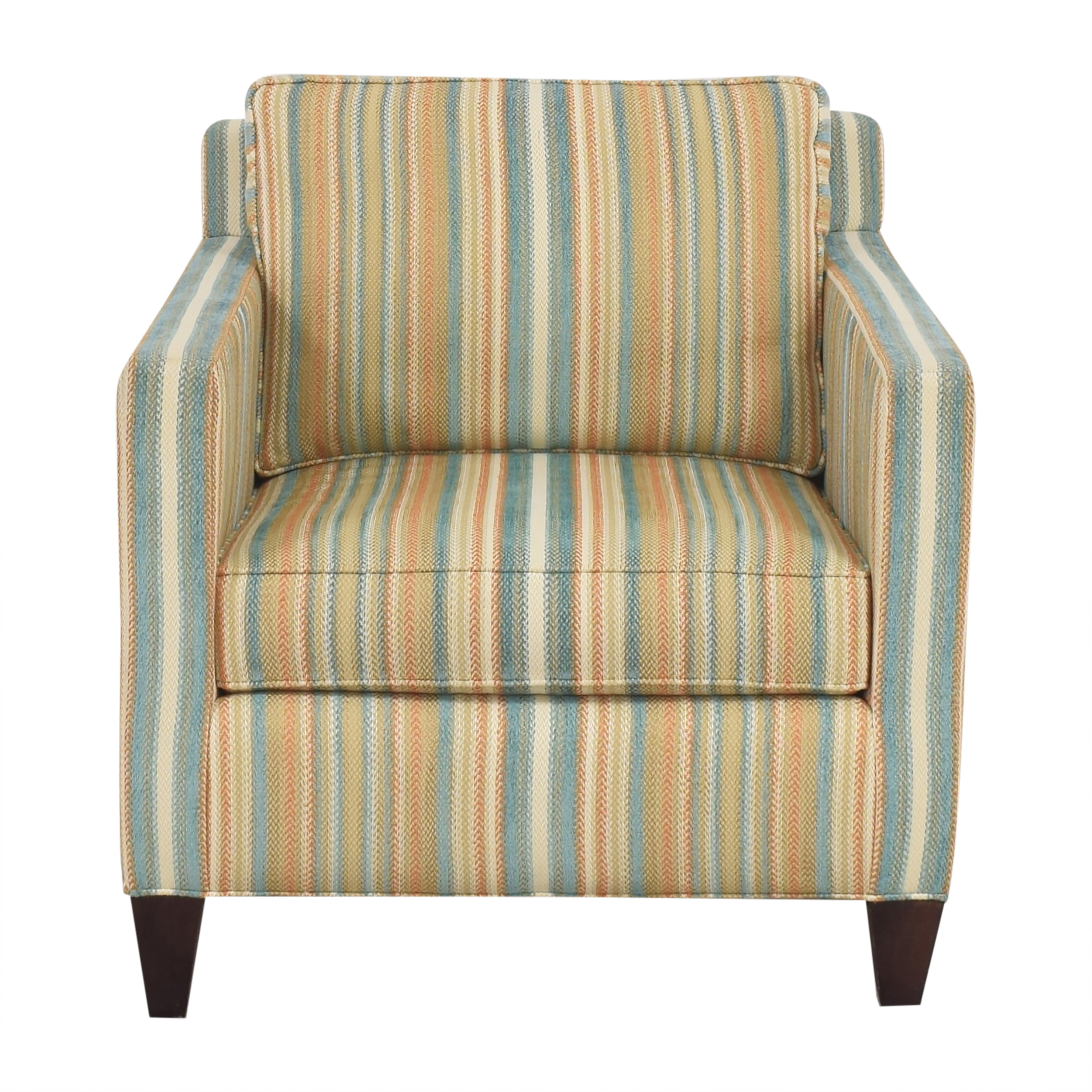 Thomasville Thomasville Striped Accent Chair multi
