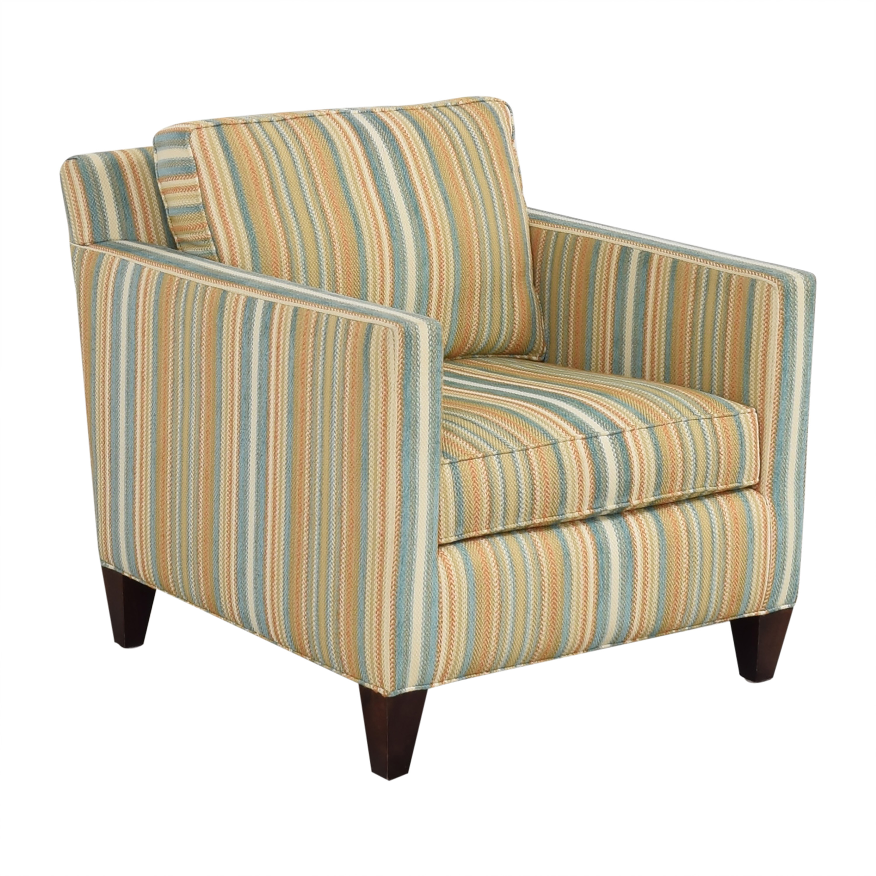 Thomasville Thomasville Striped Accent Chair ct