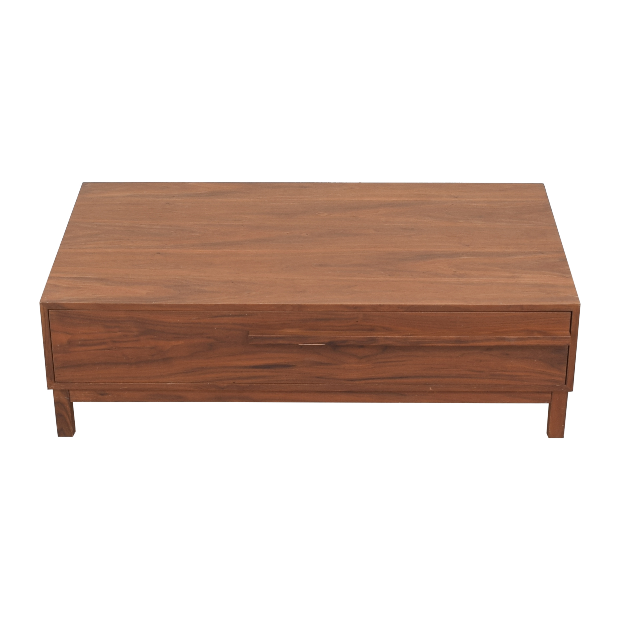 shop Crate & Barrel Storage Coffee Table Crate & Barrel