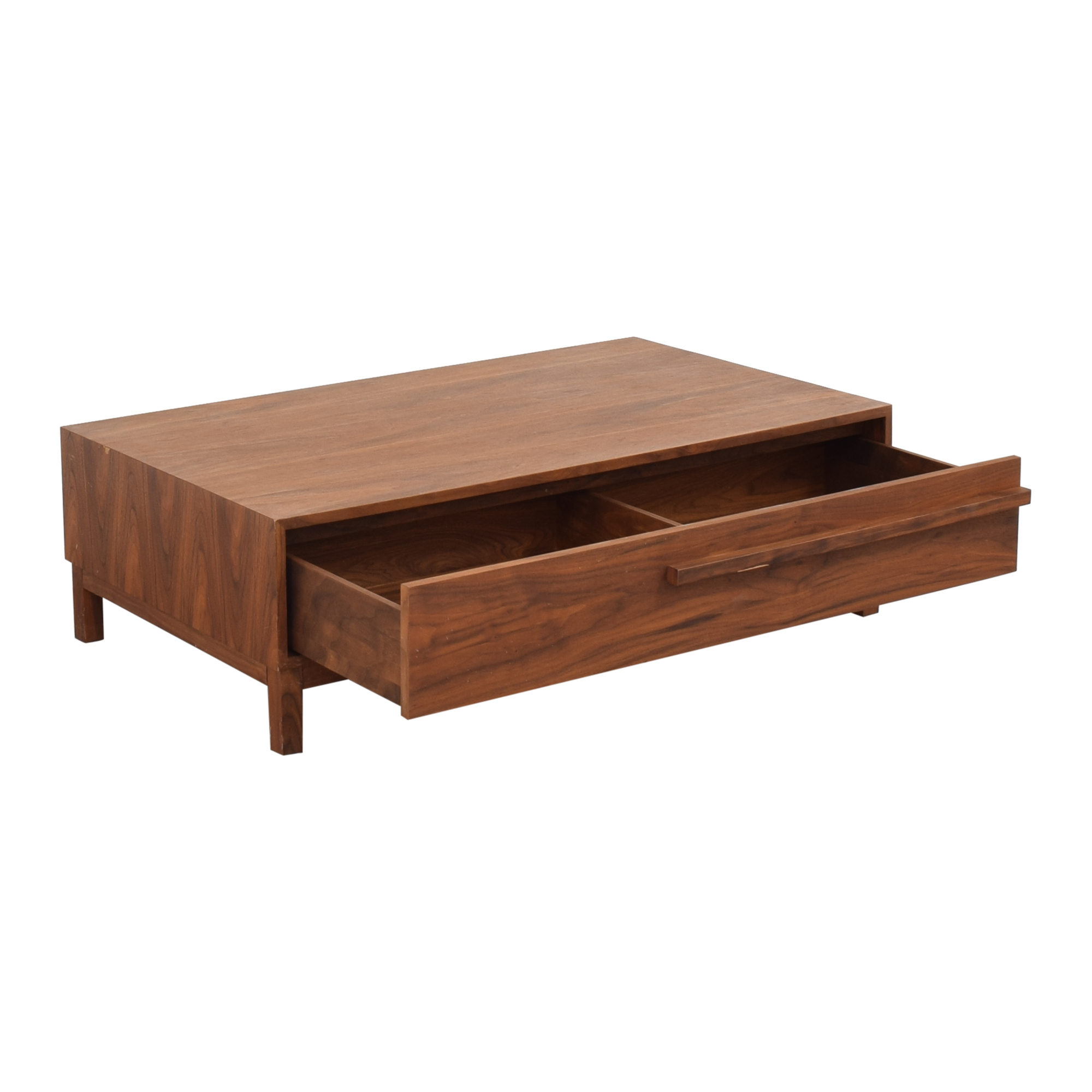 Crate & Barrel Crate & Barrel Storage Coffee Table pa