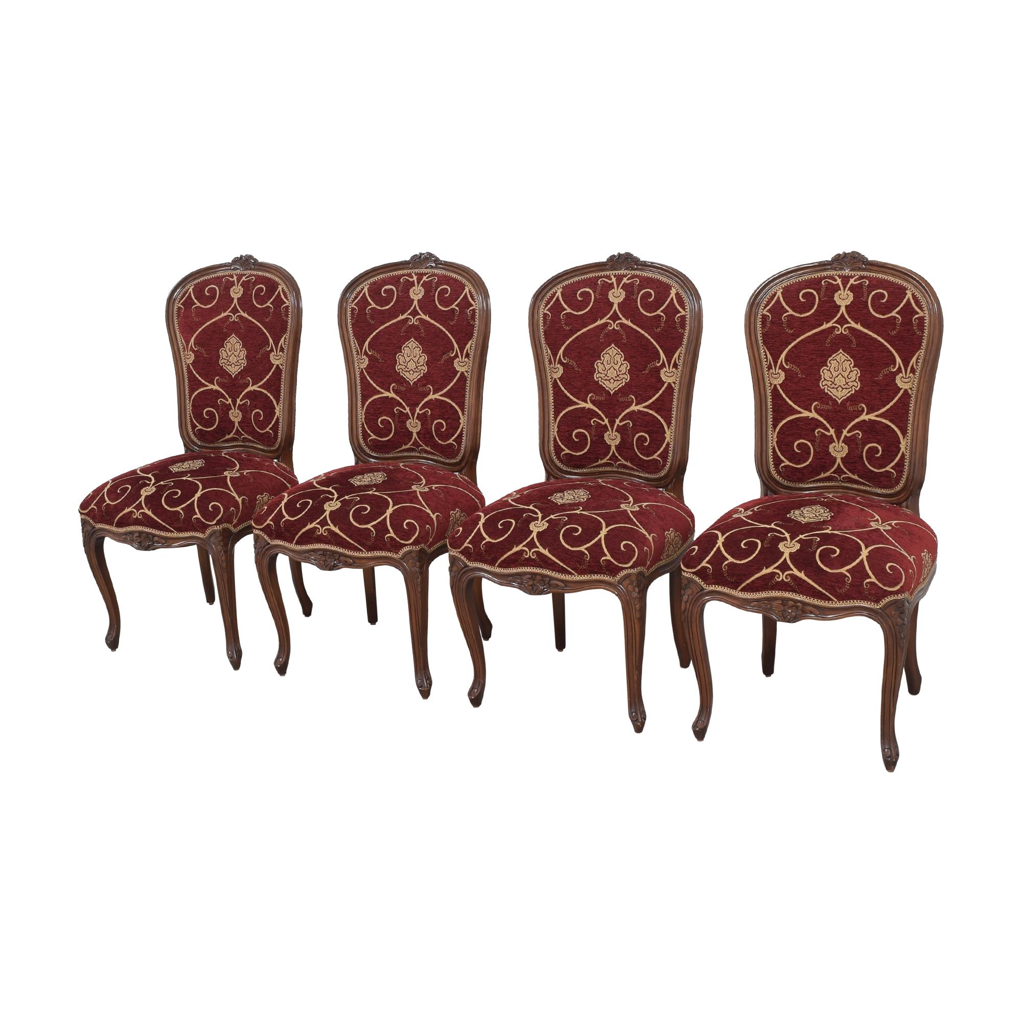 shop Louis J. Solomon Louis XV Side Dining Chairs Louis J. Solomon