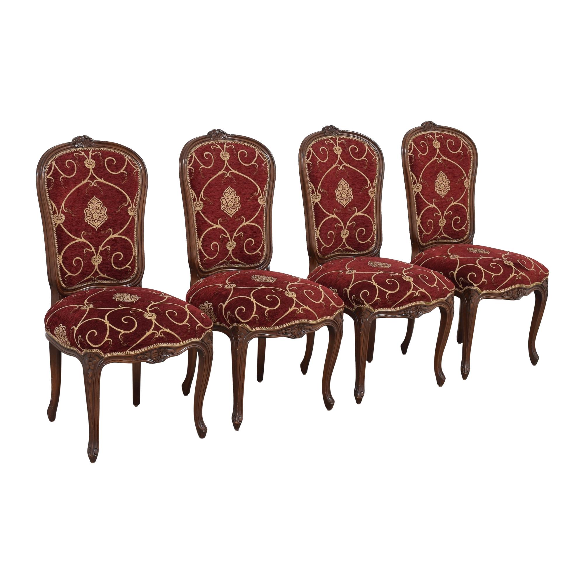 Louis J. Solomon Louis J. Solomon Louis XV Side Dining Chairs Chairs