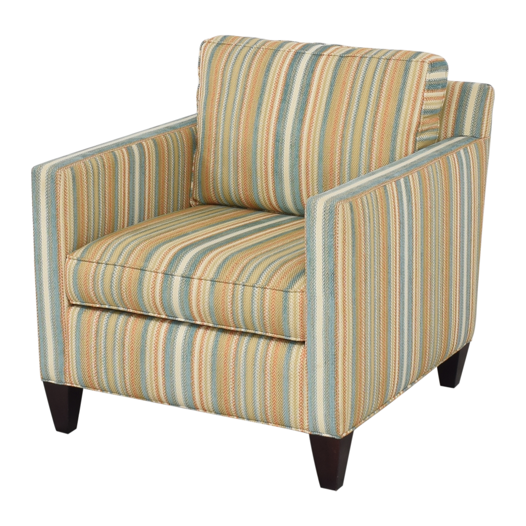 Thomasville Thomasville Striped Accent Chair Chairs
