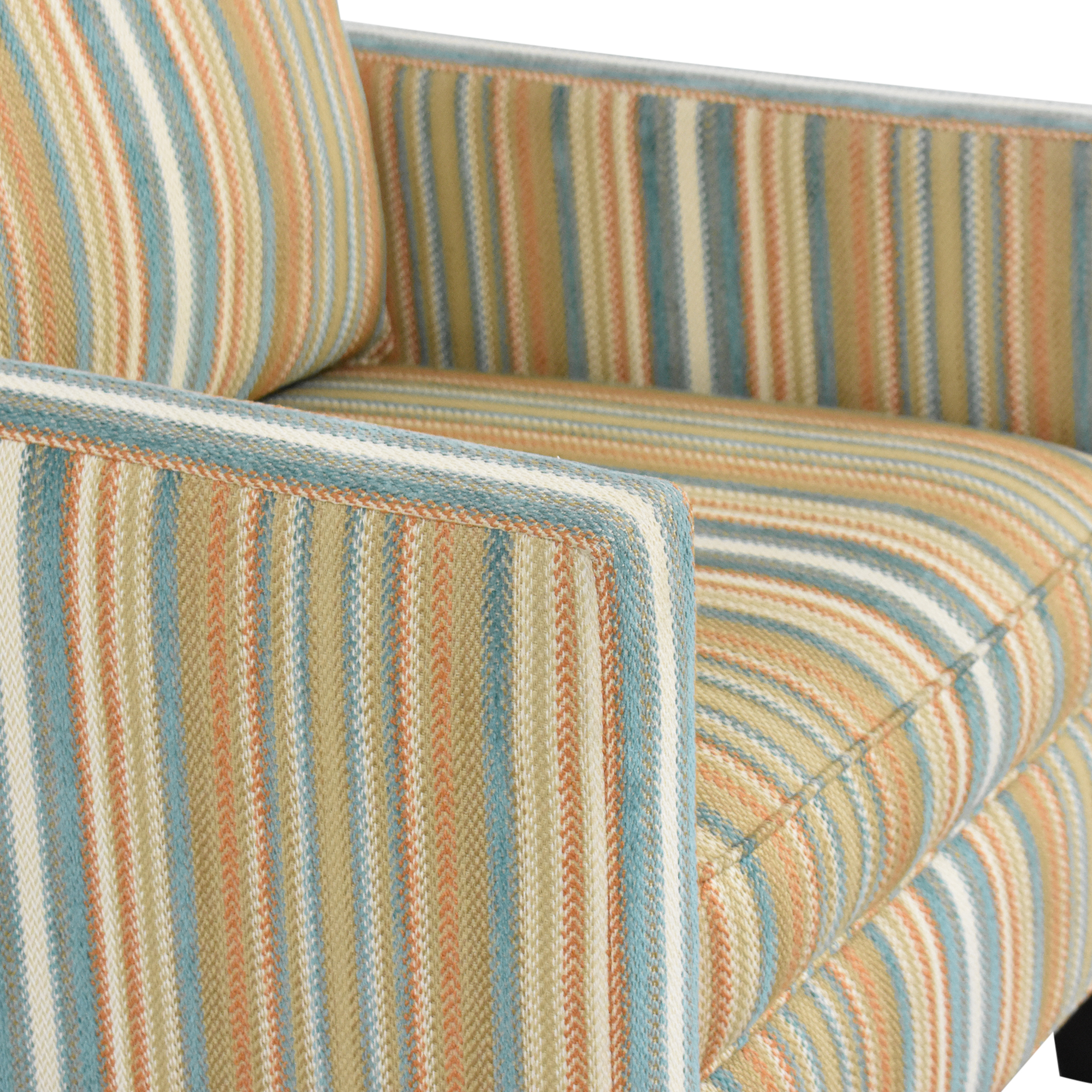 buy Thomasville Striped Accent Chair Thomasville Accent Chairs