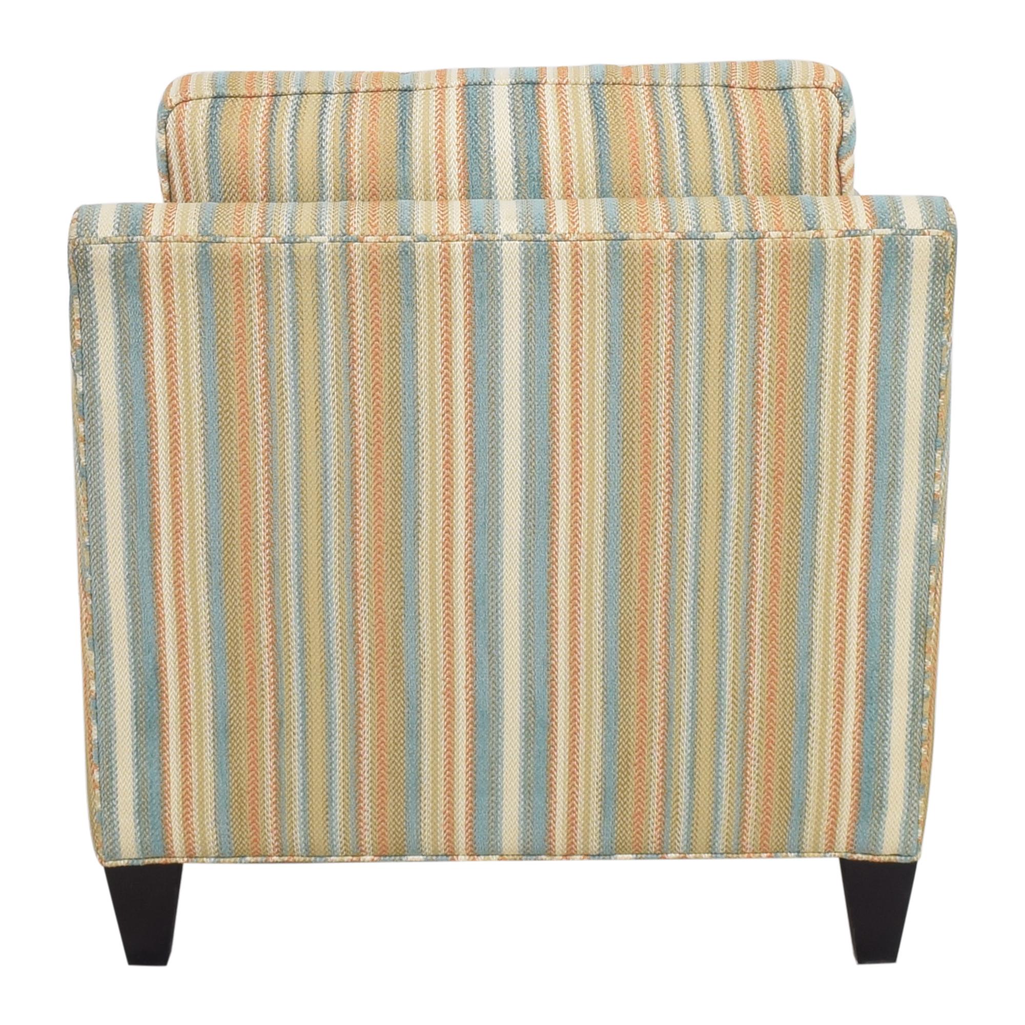 Thomasville Thomasville Striped Accent Chair ct