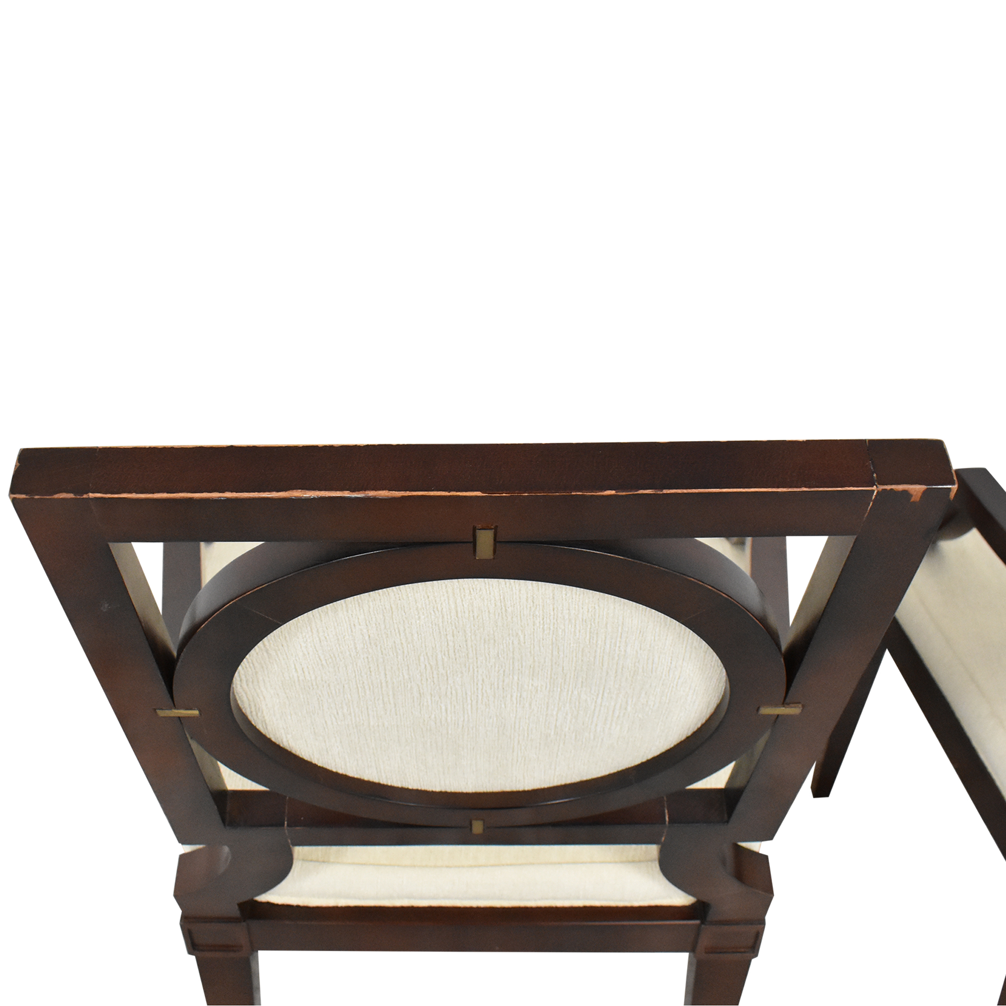 Baker Furniture Baker Louis Dining Arm Chairs for sale