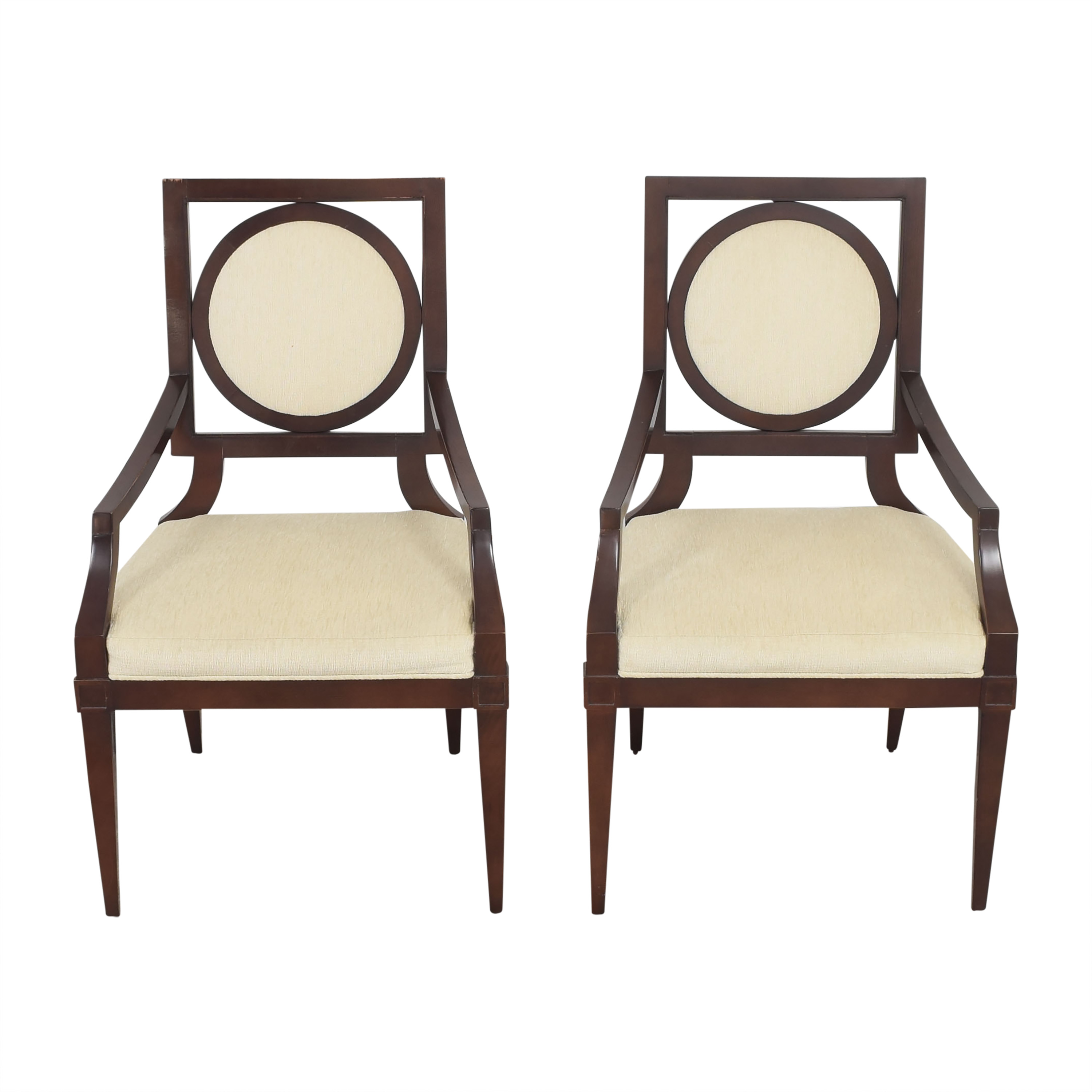 Baker Louis Dining Arm Chairs / Chairs