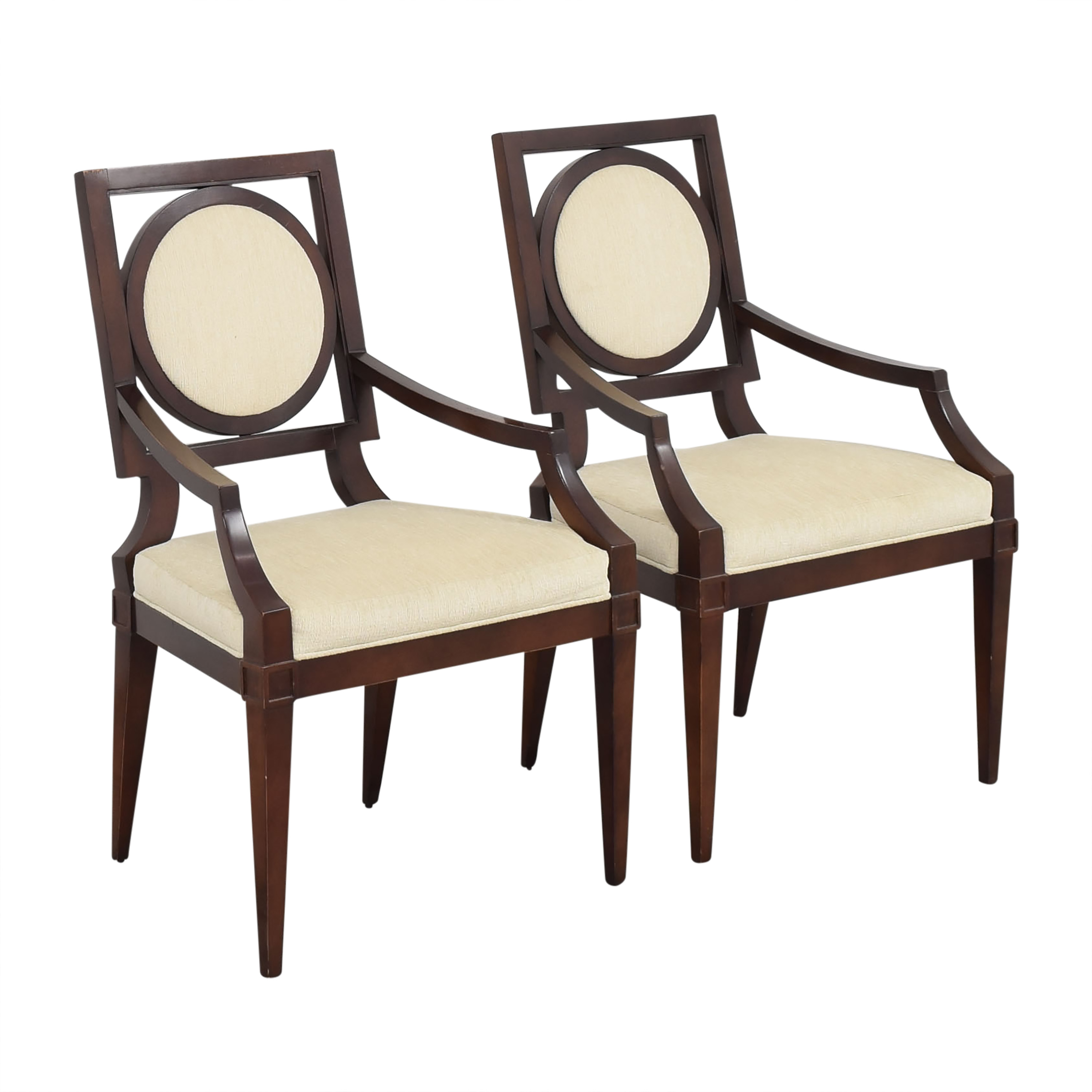 Baker Furniture Baker Louis Dining Arm Chairs price