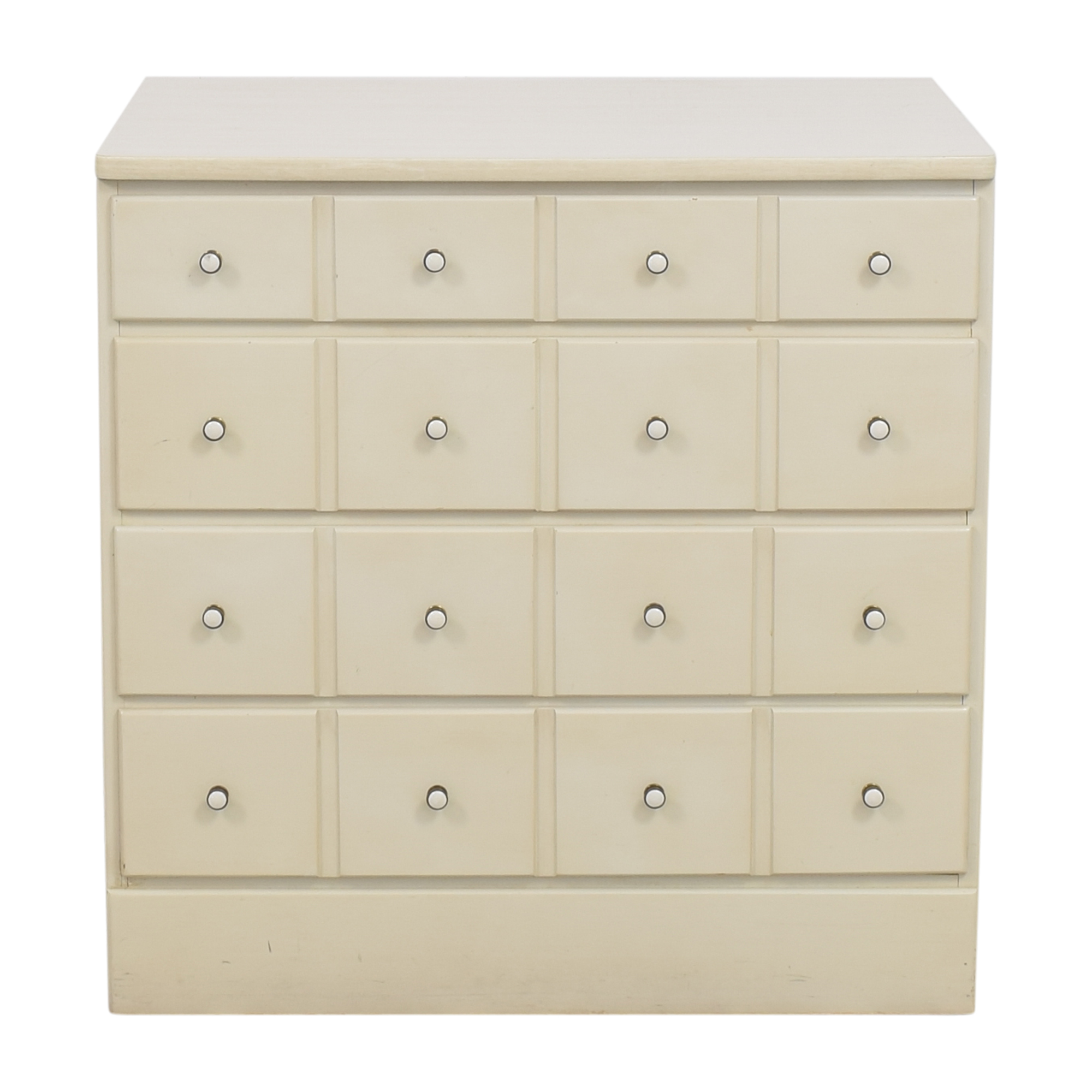 Ethan Allen Ethan Allen Apothecary Style Four Drawer Dresser ct