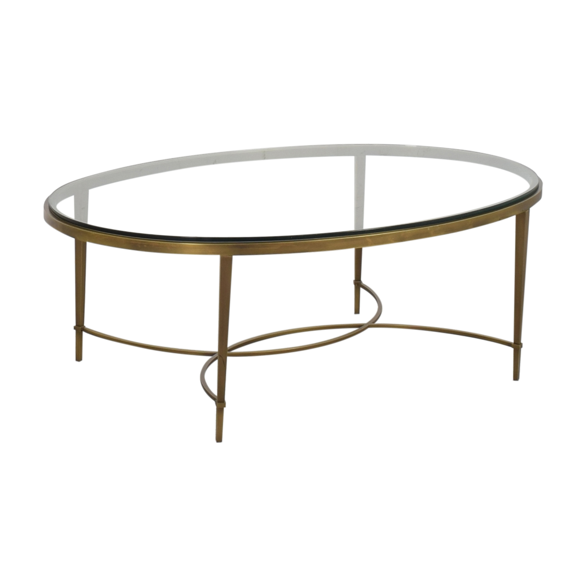 Baker Furniture Baker Furniture Oval Coffee Table used