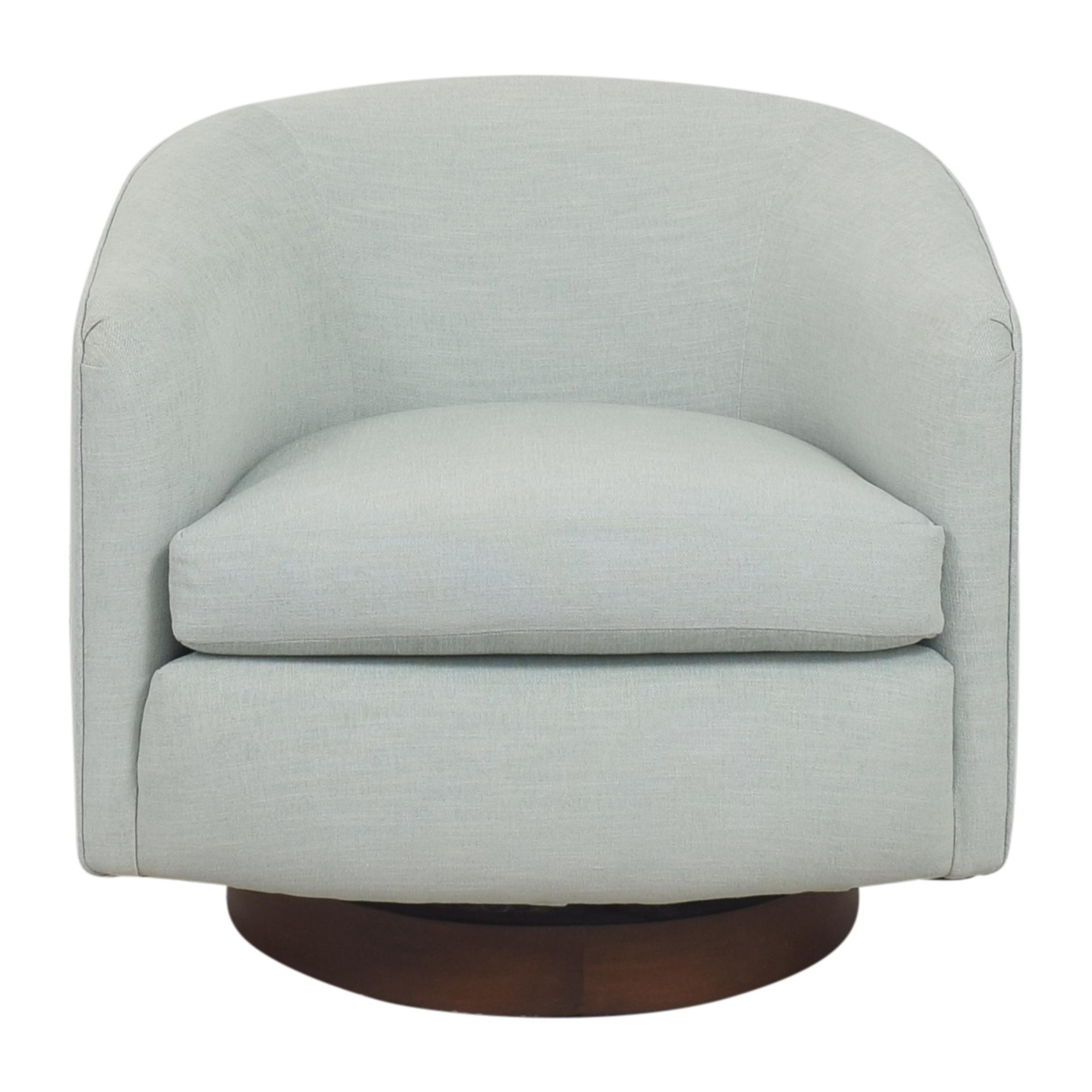 Custom Swivel Accent Chair pa
