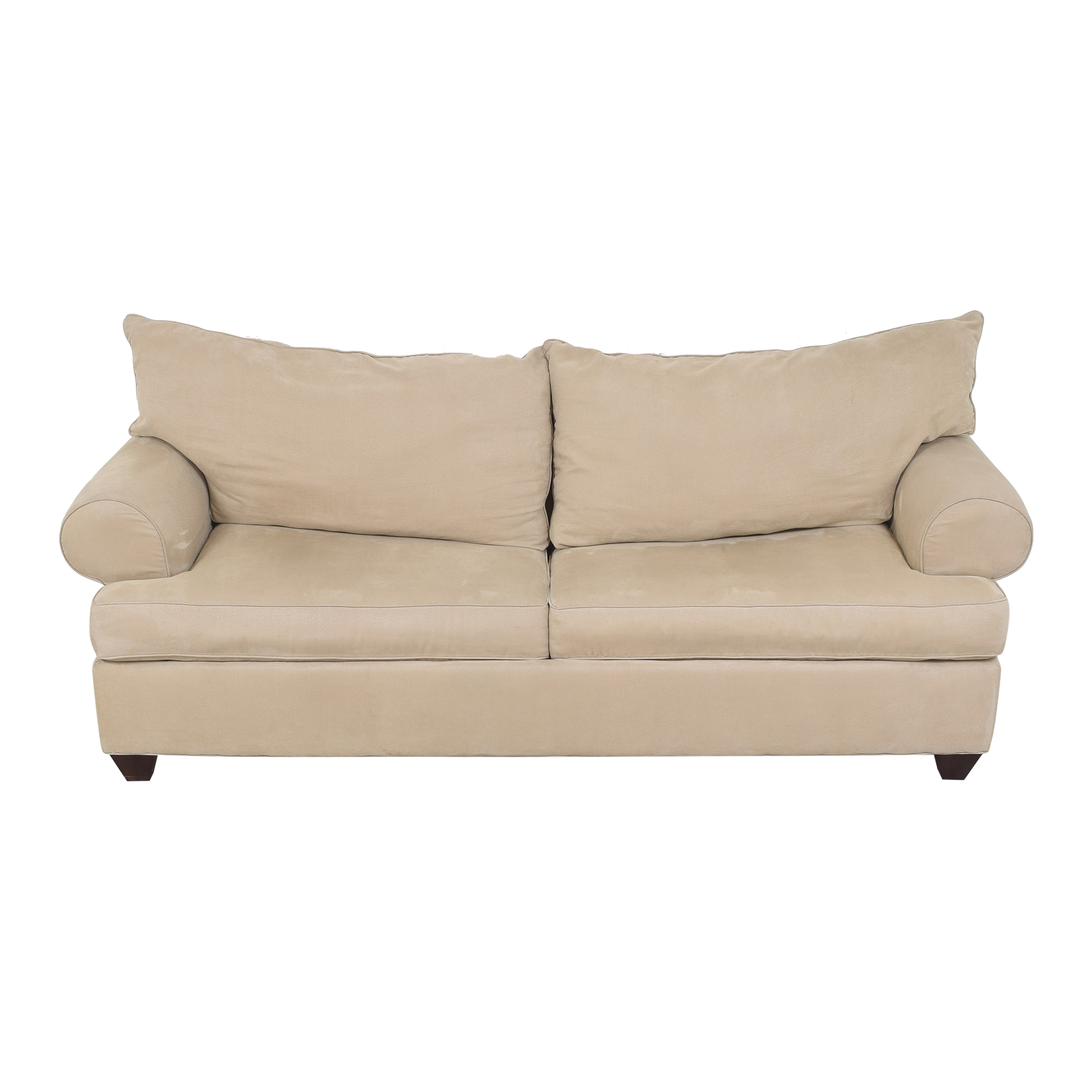 Raymour & Flanigan Raymour & Flanigan Two Cushion Sleeper Sofa discount