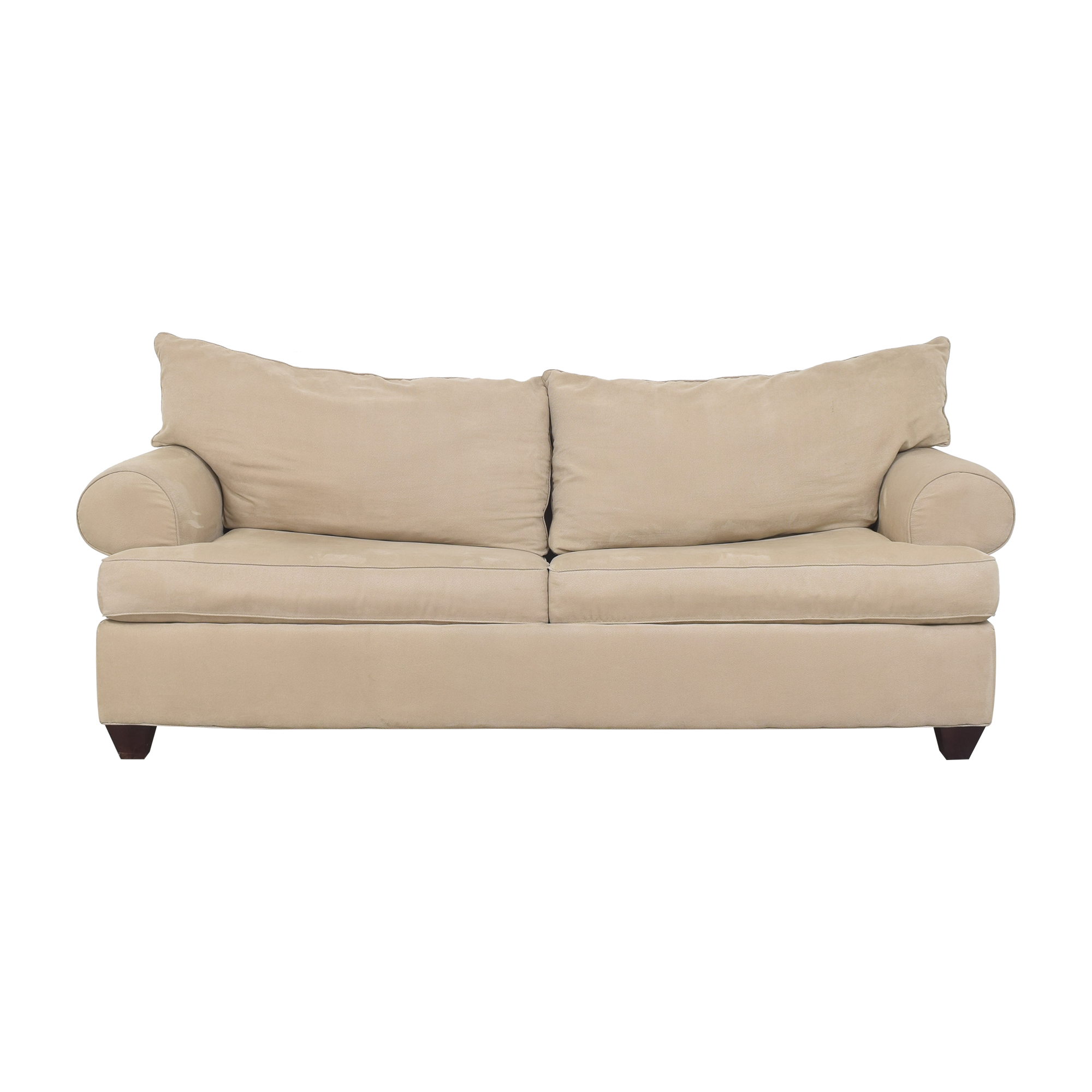 Raymour & Flanigan Two Cushion Sleeper Sofa sale