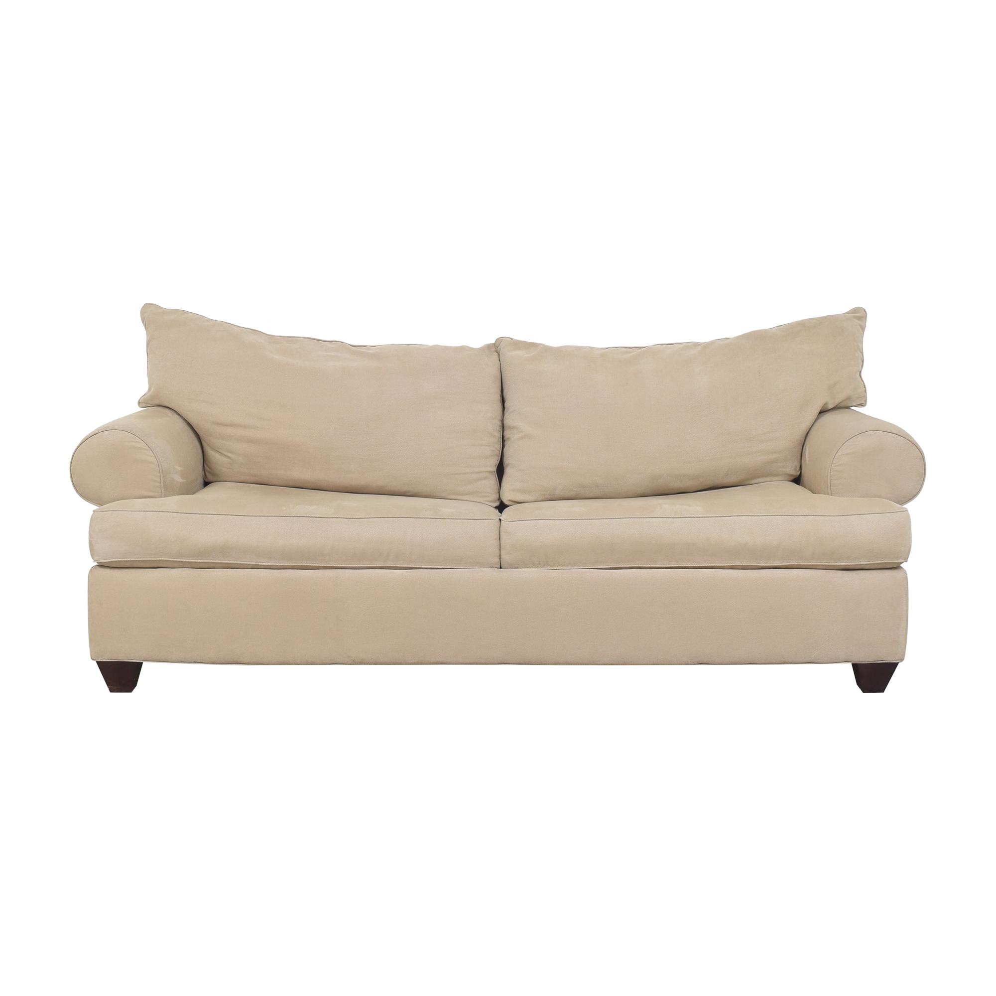 Raymour & Flanigan Raymour & Flanigan Two Cushion Sleeper Sofa for sale